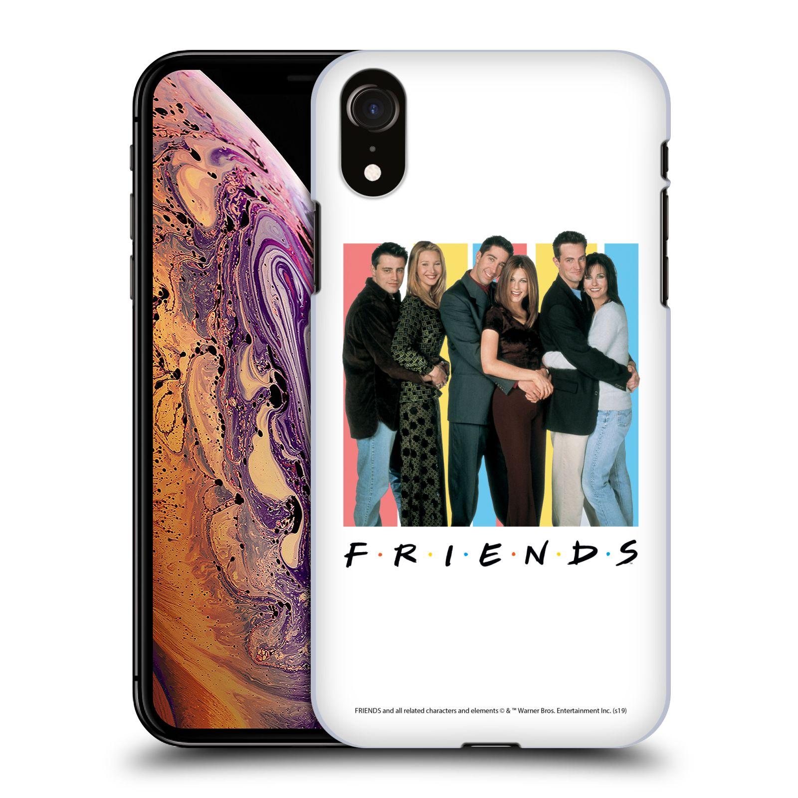 Pouzdro na mobil Apple Iphone XR - HEAD CASE - Seriál Přátelé - Foto