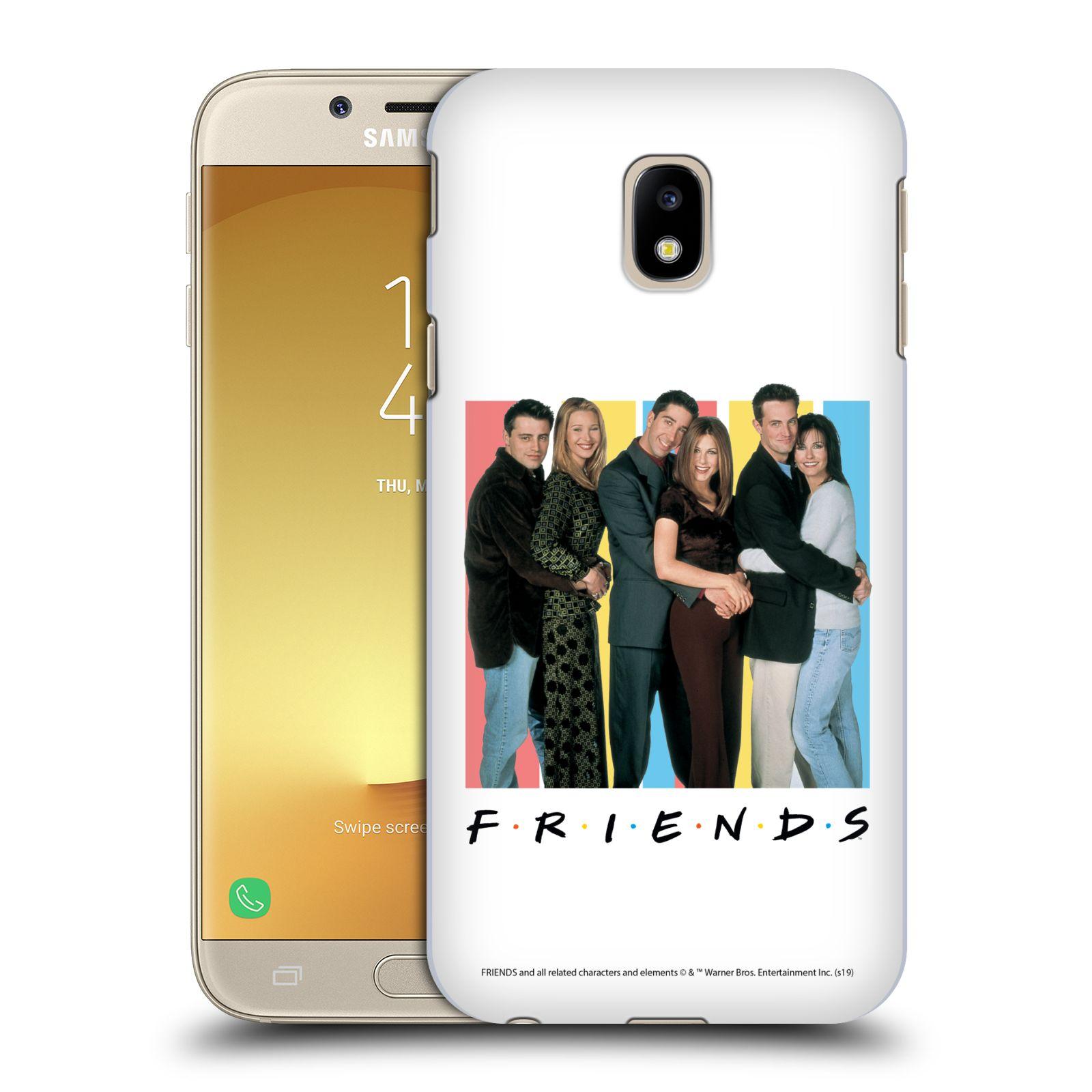 Pouzdro na mobil Samsung Galaxy J3 2017 (J330, J330F) - HEAD CASE - Seriál Přátelé - Foto