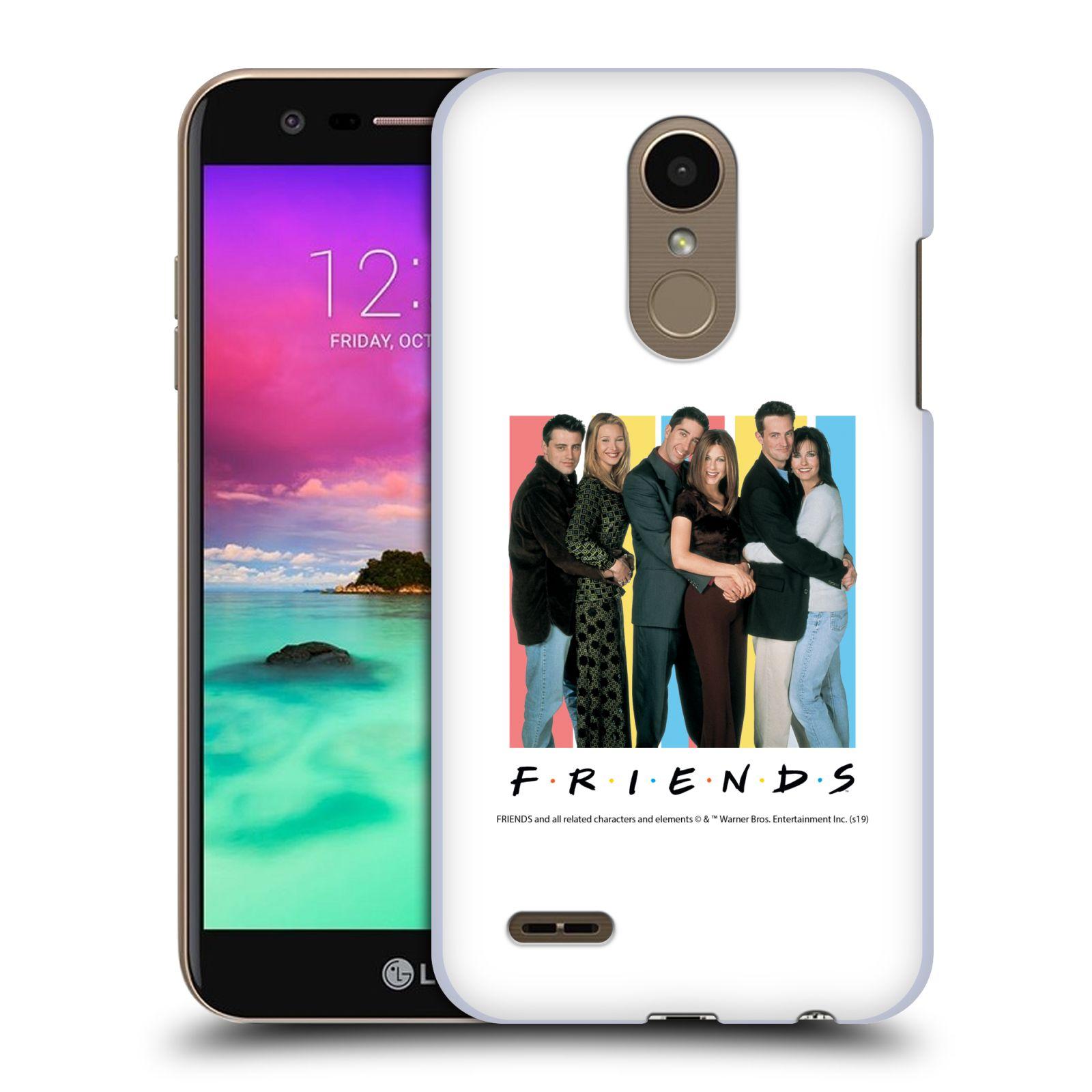 Pouzdro na mobil LG K10 2018 - HEAD CASE - Seriál Přátelé - Foto