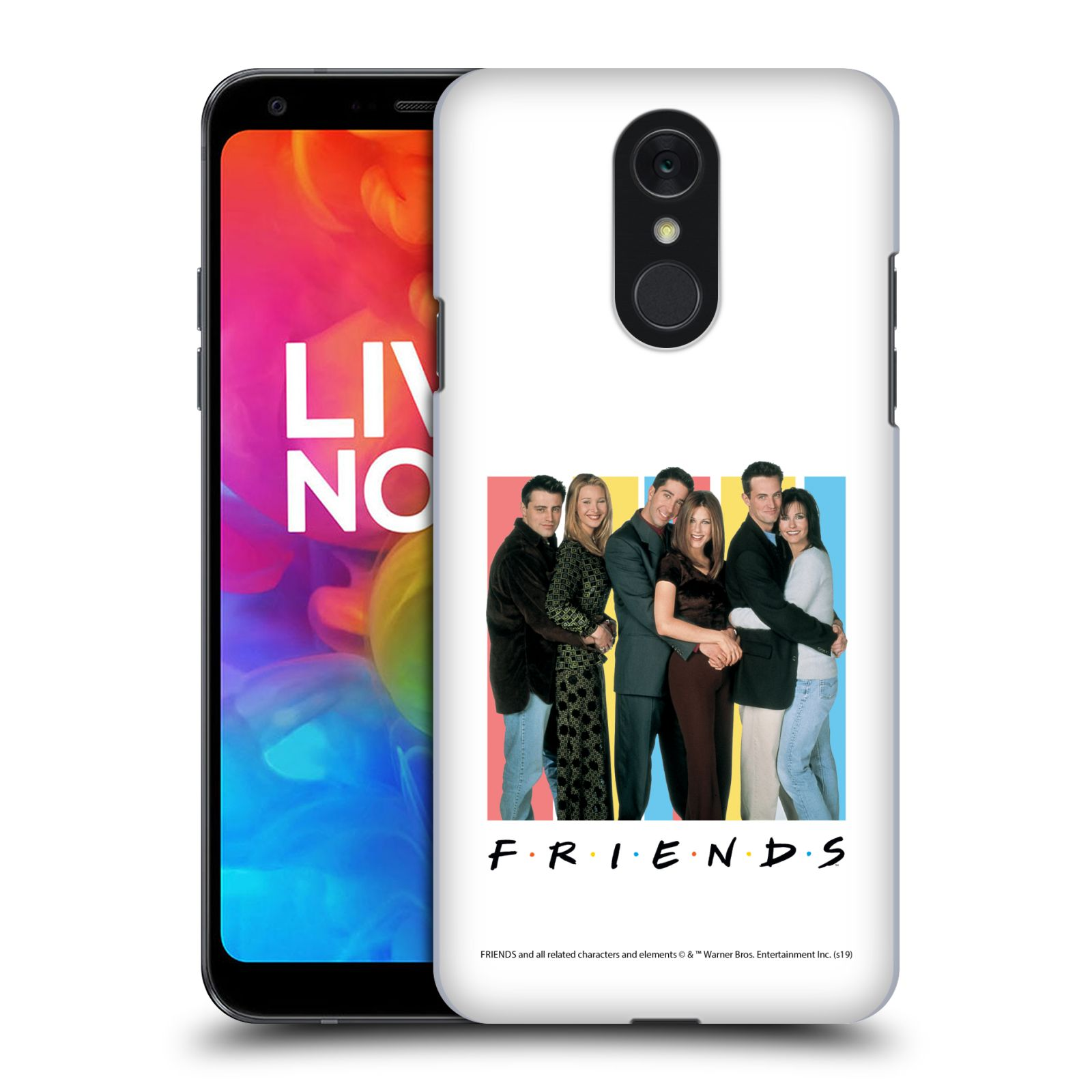 Pouzdro na mobil LG Q7 - HEAD CASE - Seriál Přátelé - Foto