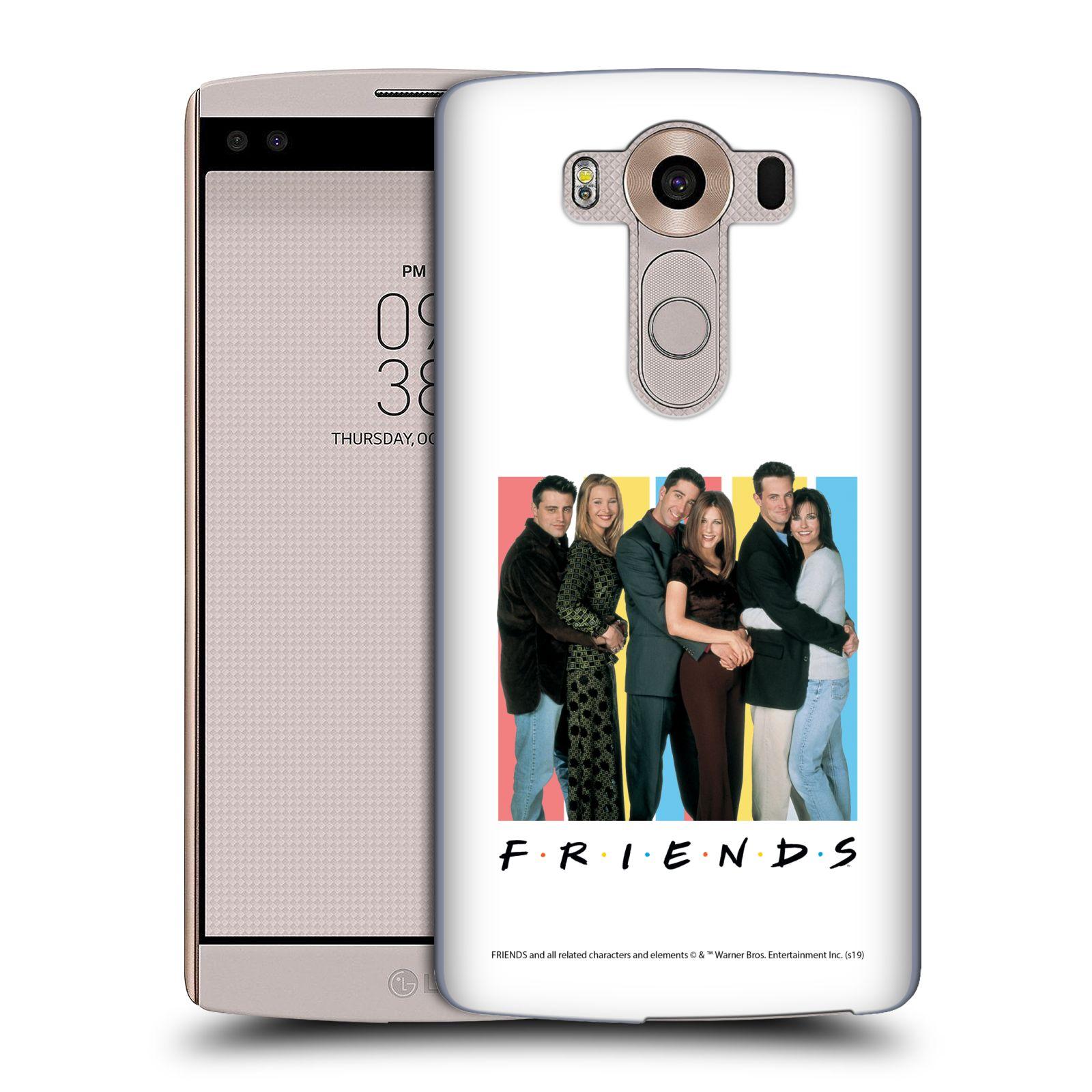 Pouzdro na mobil LG V10 - HEAD CASE - Seriál Přátelé - Foto
