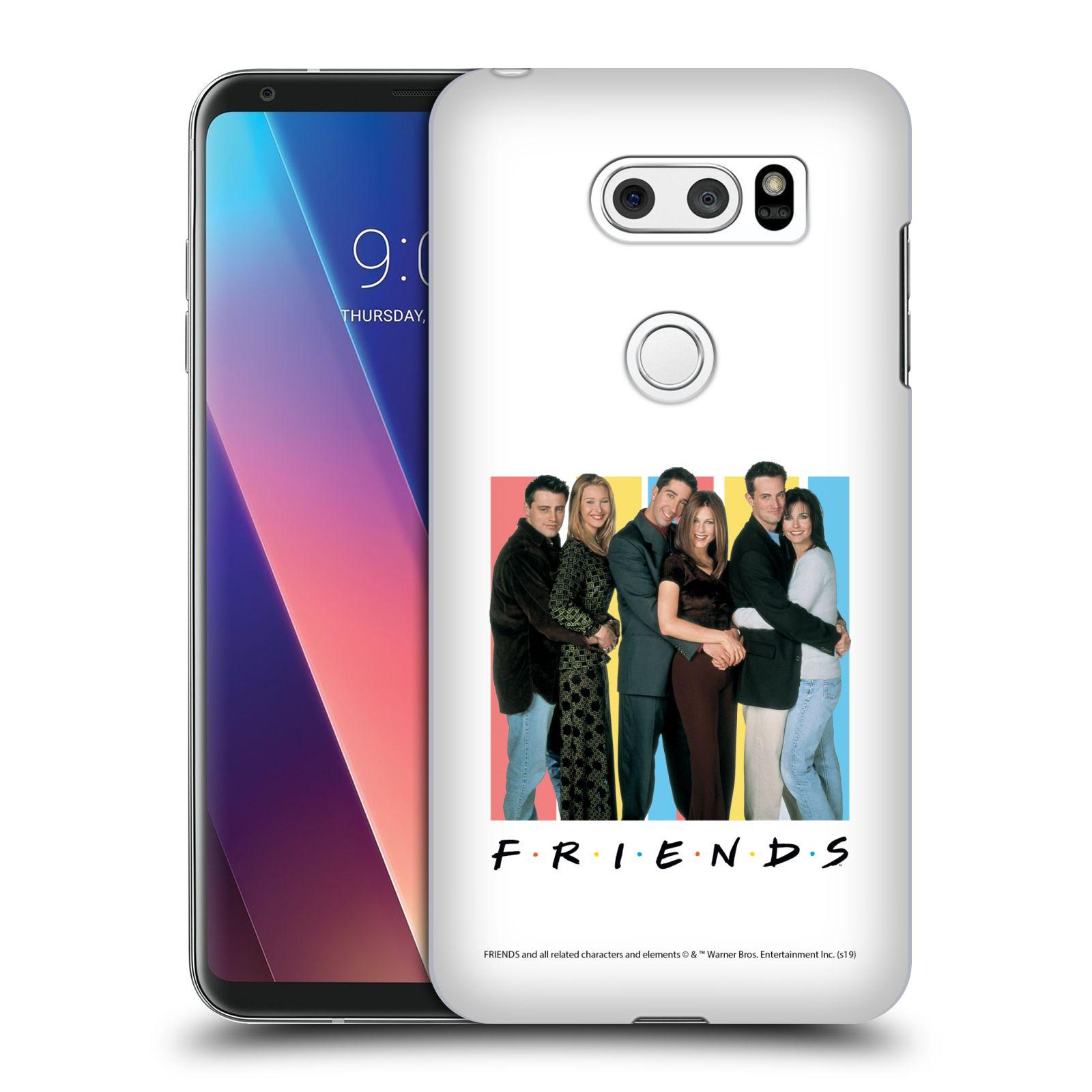 Pouzdro na mobil LG V30 - HEAD CASE - Seriál Přátelé - Foto