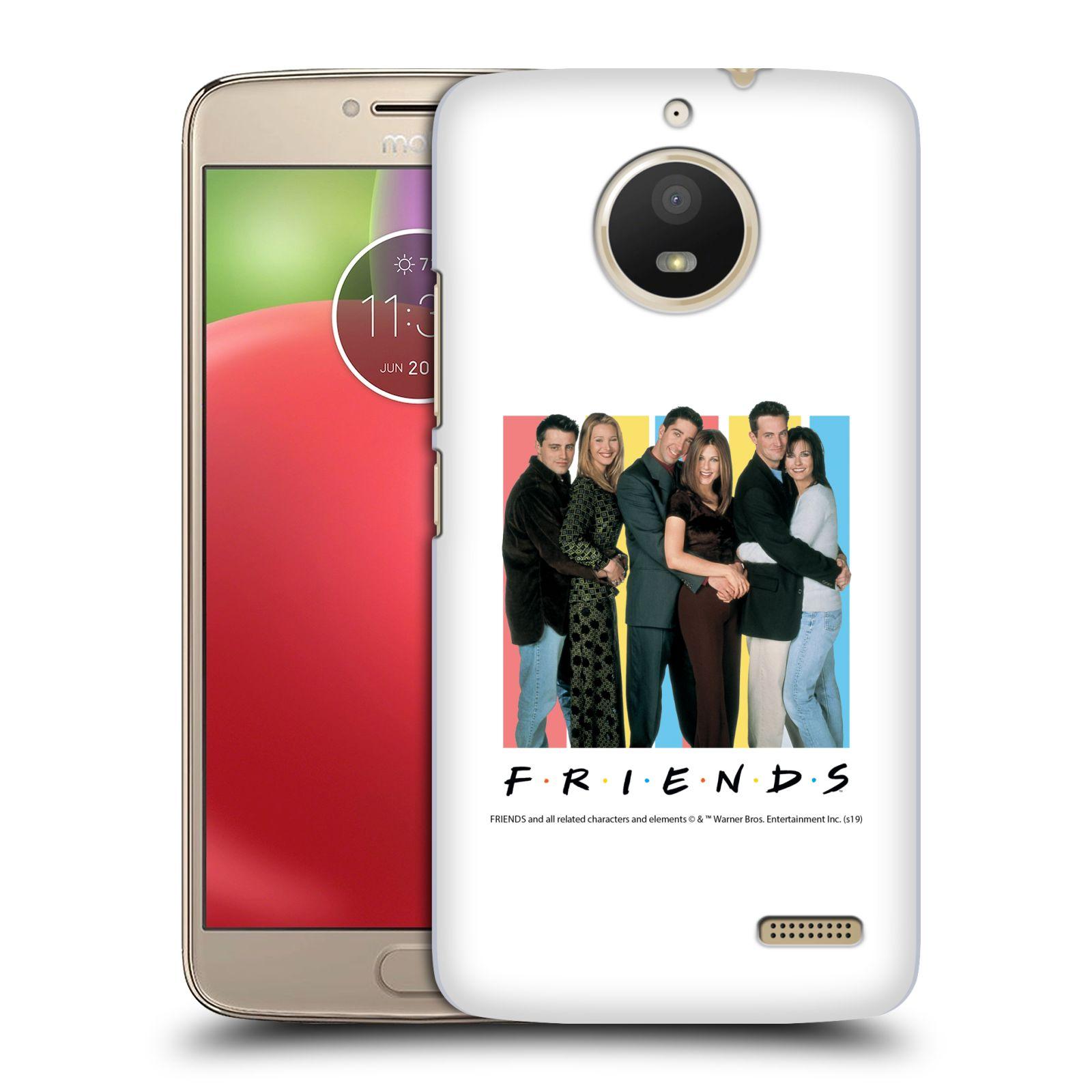 Pouzdro na mobil Lenovo Moto E4 - HEAD CASE - Seriál Přátelé - Foto
