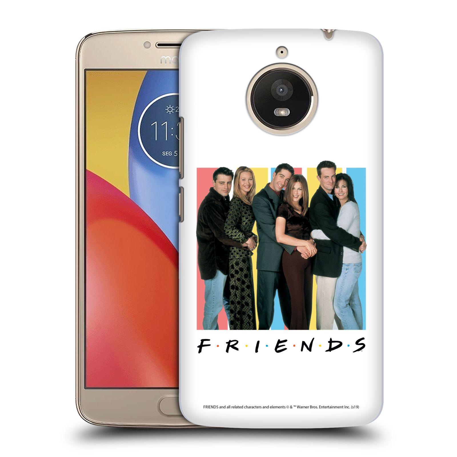Pouzdro na mobil Lenovo Moto E4 PLUS - HEAD CASE - Seriál Přátelé - Foto