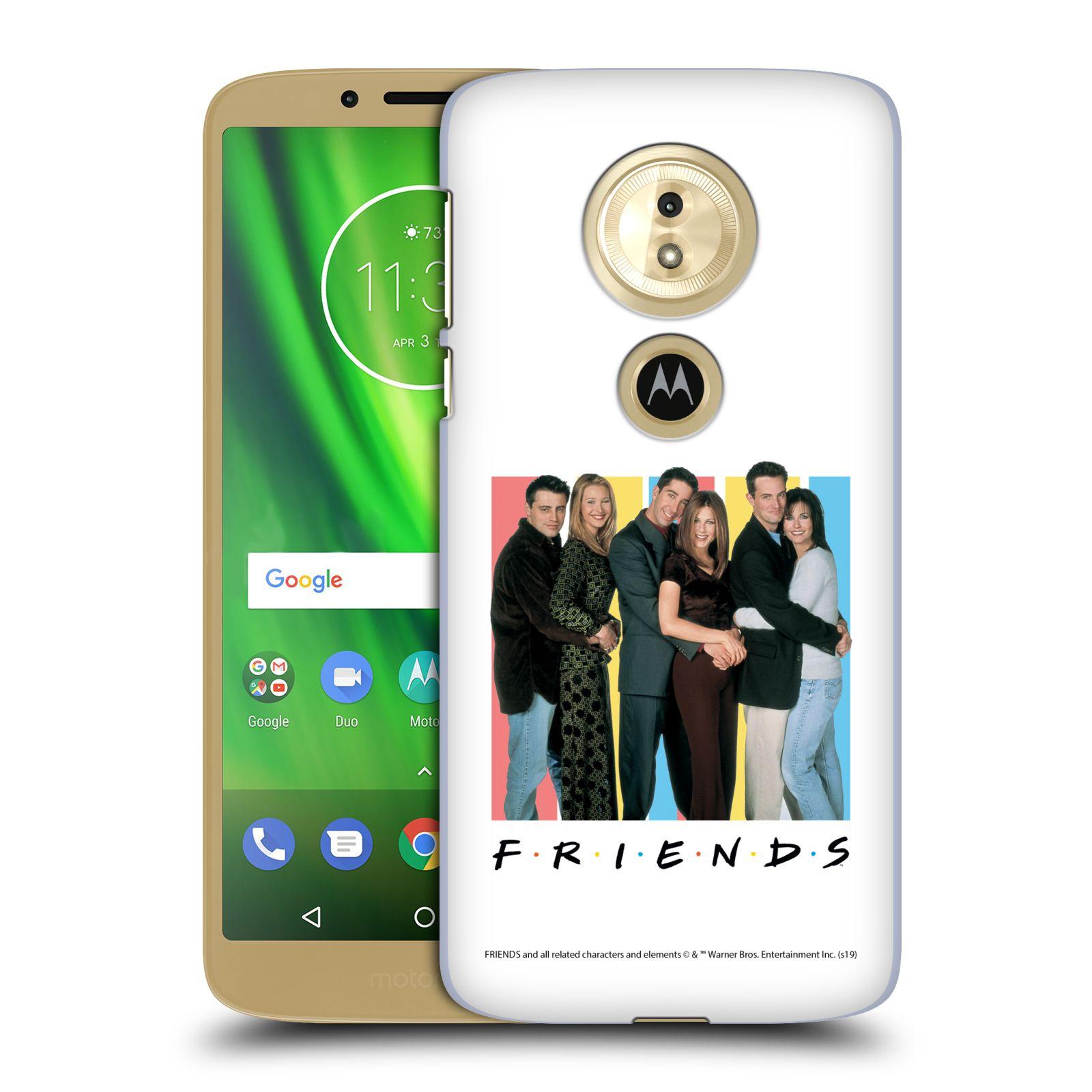 Pouzdro na mobil Motorola Moto E5 - HEAD CASE - Seriál Přátelé - Foto
