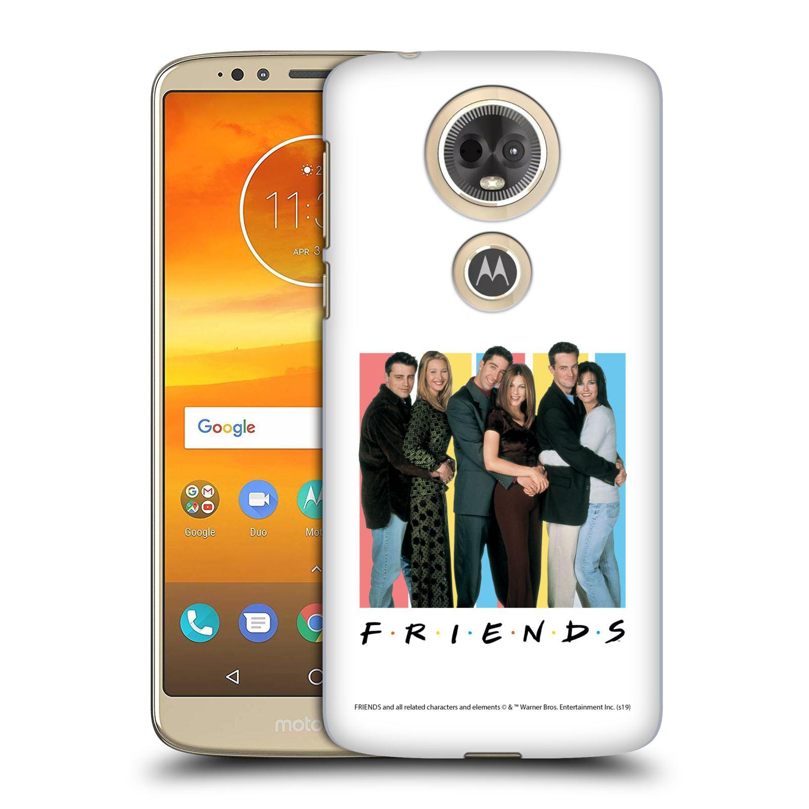 Pouzdro na mobil Motorola Moto E5 PLUS - HEAD CASE - Seriál Přátelé - Foto
