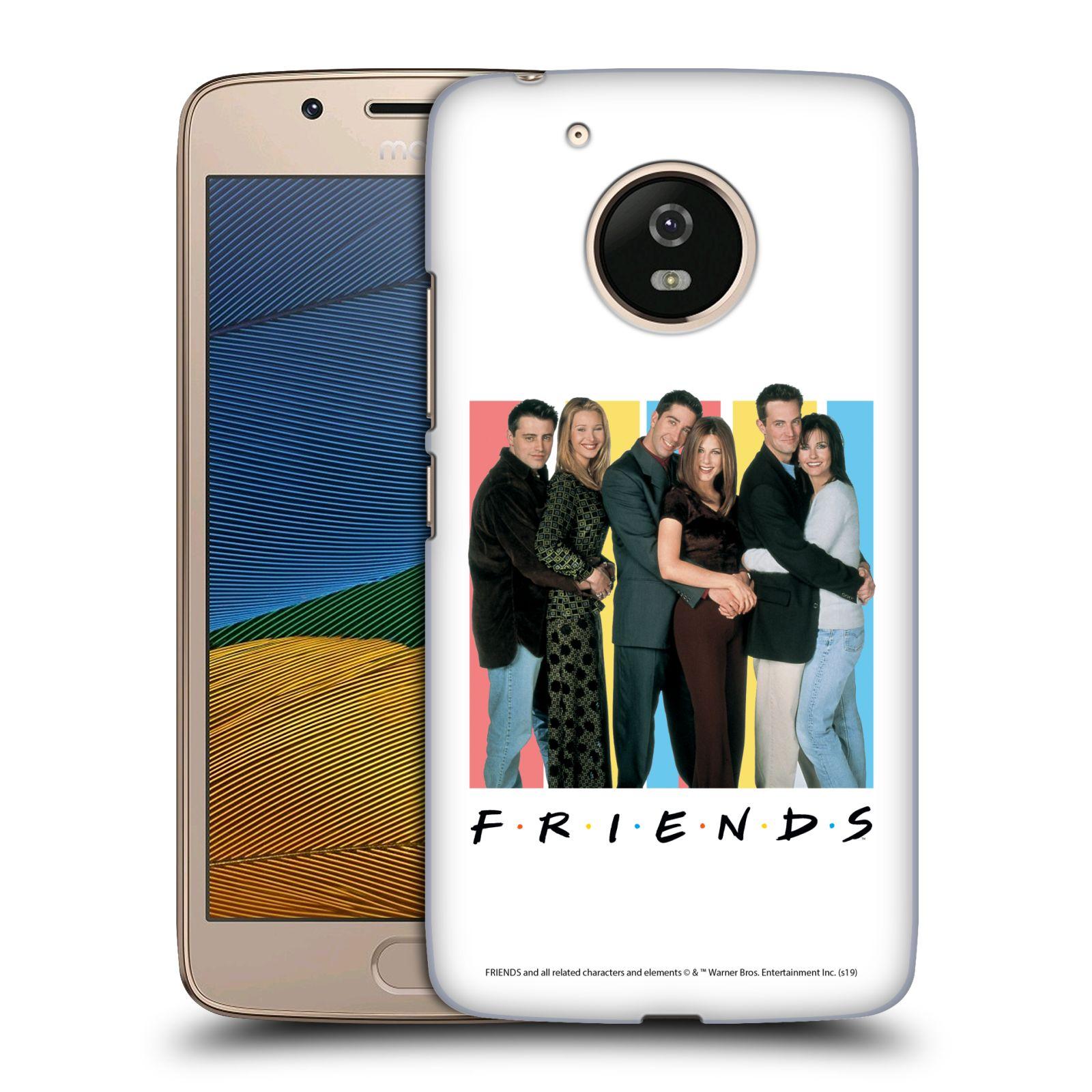 Pouzdro na mobil Lenovo Moto G5 - HEAD CASE - Seriál Přátelé - Foto