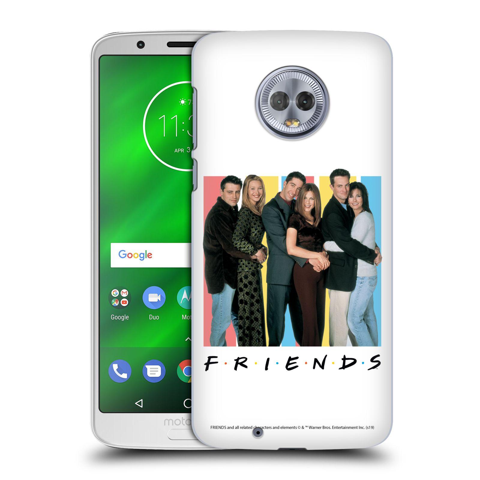 Pouzdro na mobil Motorola Moto G6 - HEAD CASE - Seriál Přátelé - Foto