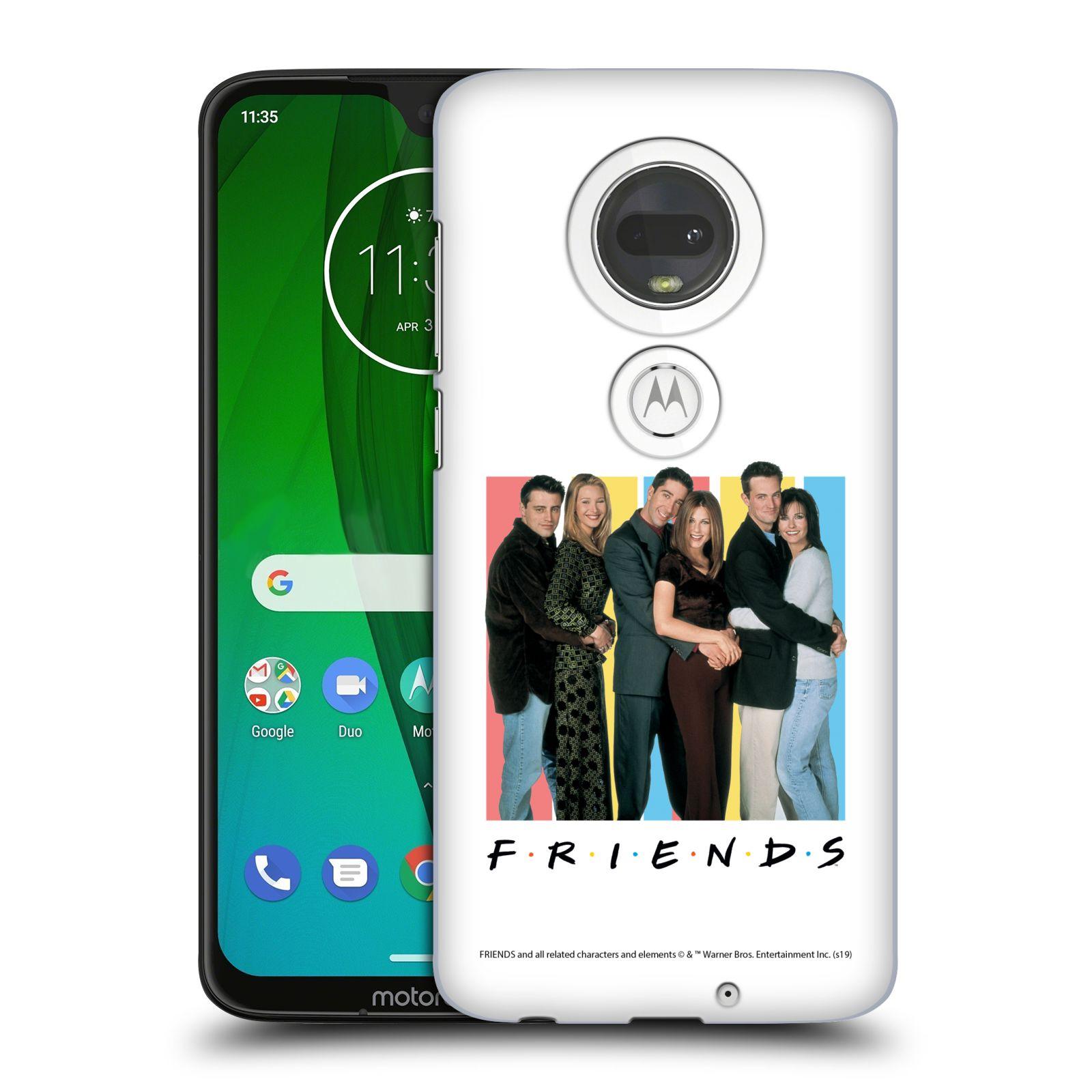 Pouzdro na mobil Motorola Moto G7 - HEAD CASE - Seriál Přátelé - Foto