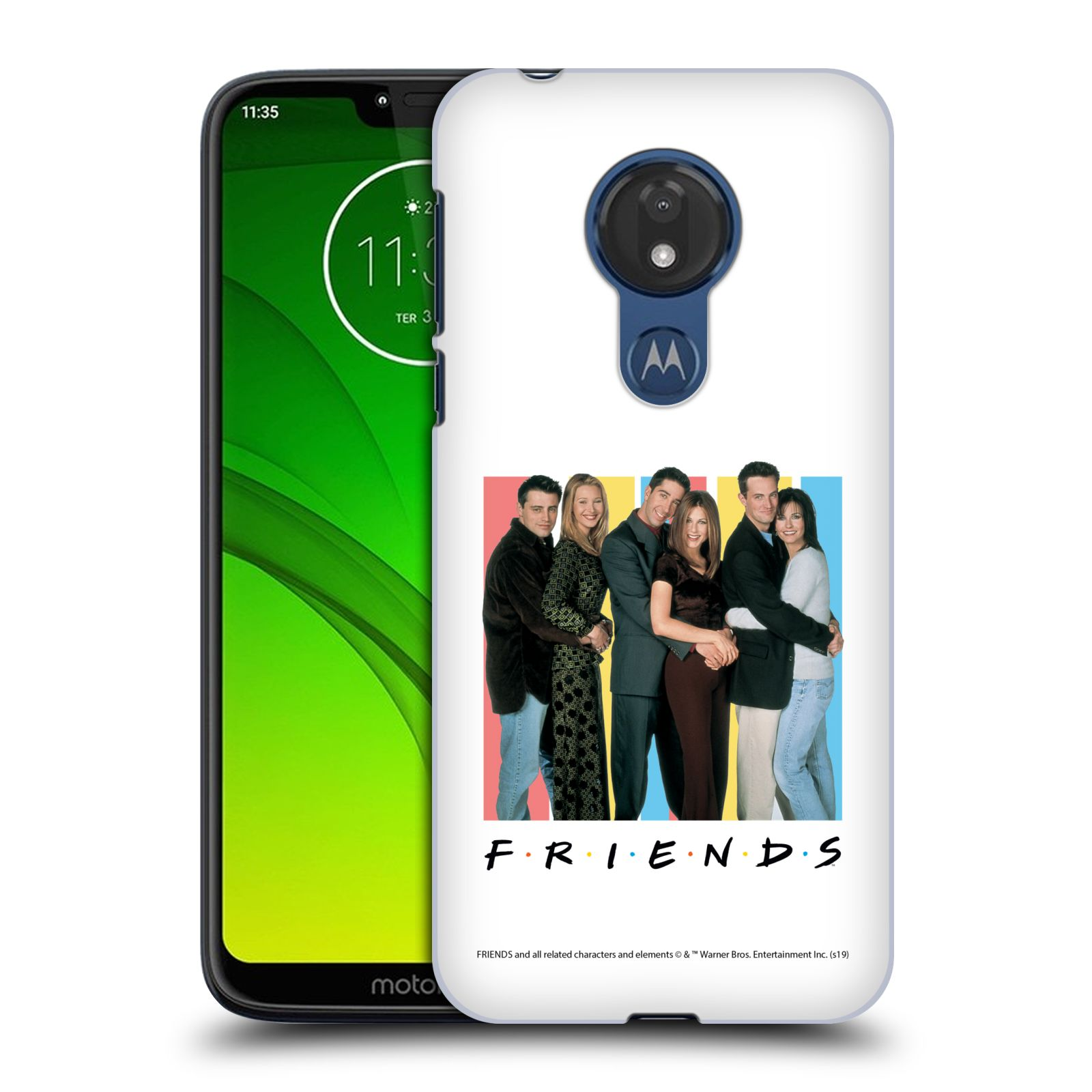 Pouzdro na mobil Motorola Moto G7 POWER - HEAD CASE - Seriál Přátelé - Foto
