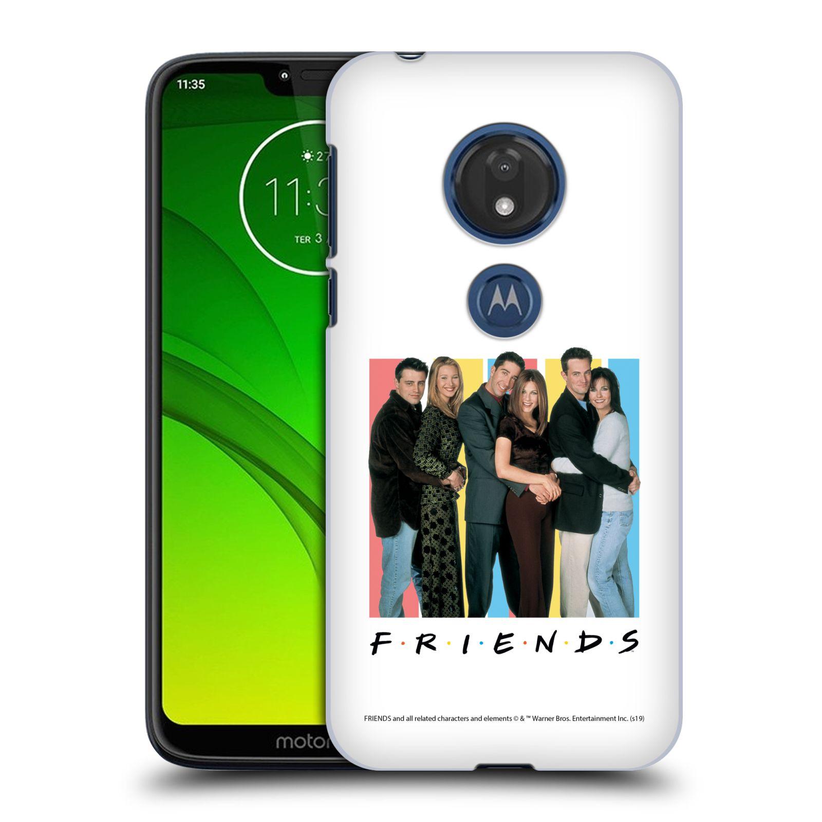 Pouzdro na mobil Motorola Moto G7 Play - HEAD CASE - Seriál Přátelé - Foto