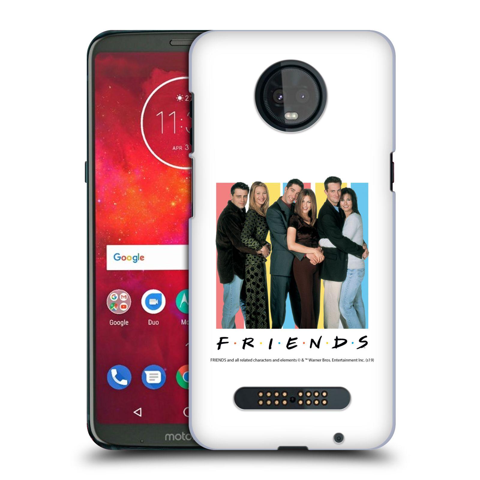 Pouzdro na mobil Motorola Moto Z3 PLAY - HEAD CASE - Seriál Přátelé - Foto