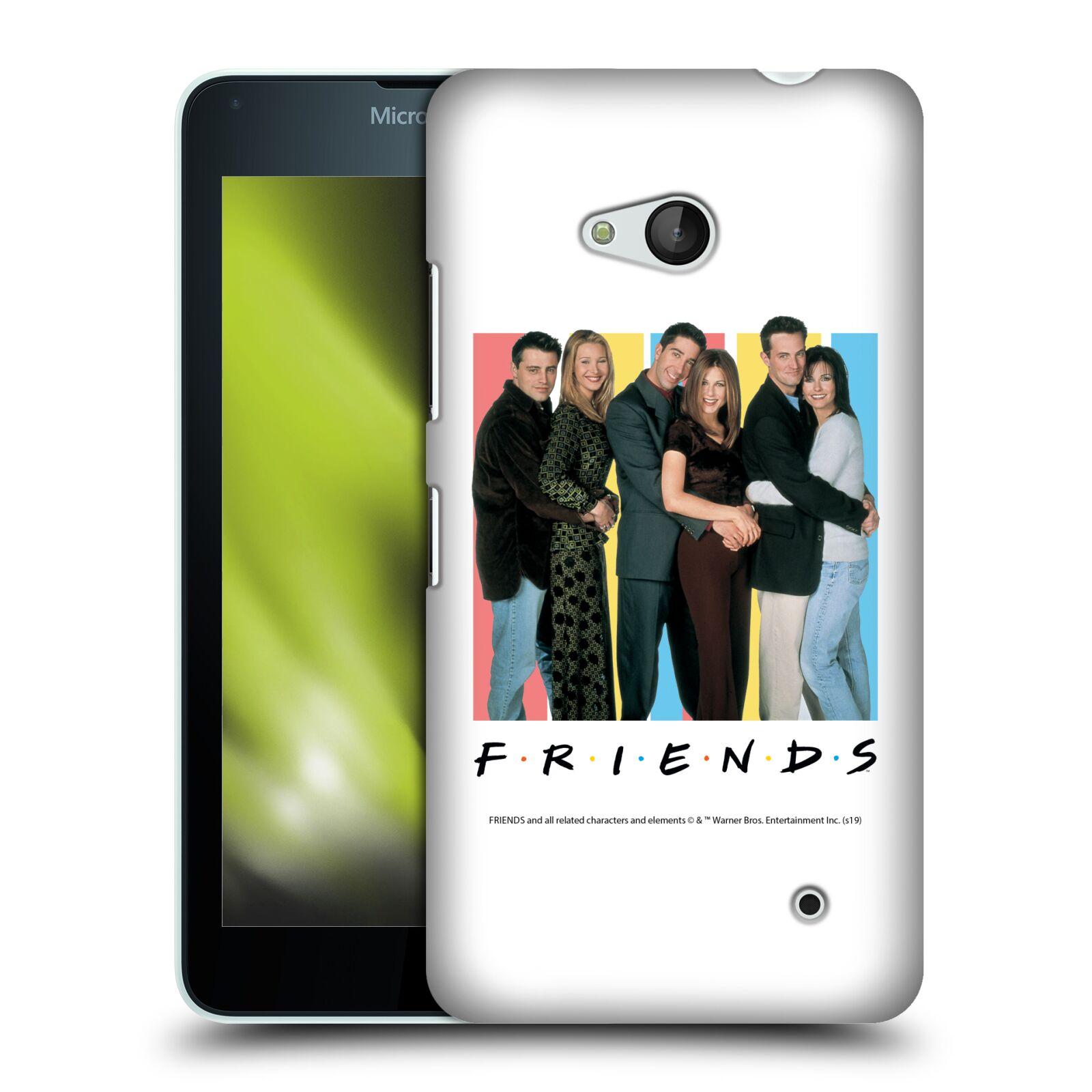 Pouzdro na mobil Microsoft Lumia 640 / 640 DUAL SIM - HEAD CASE - Seriál Přátelé - Foto