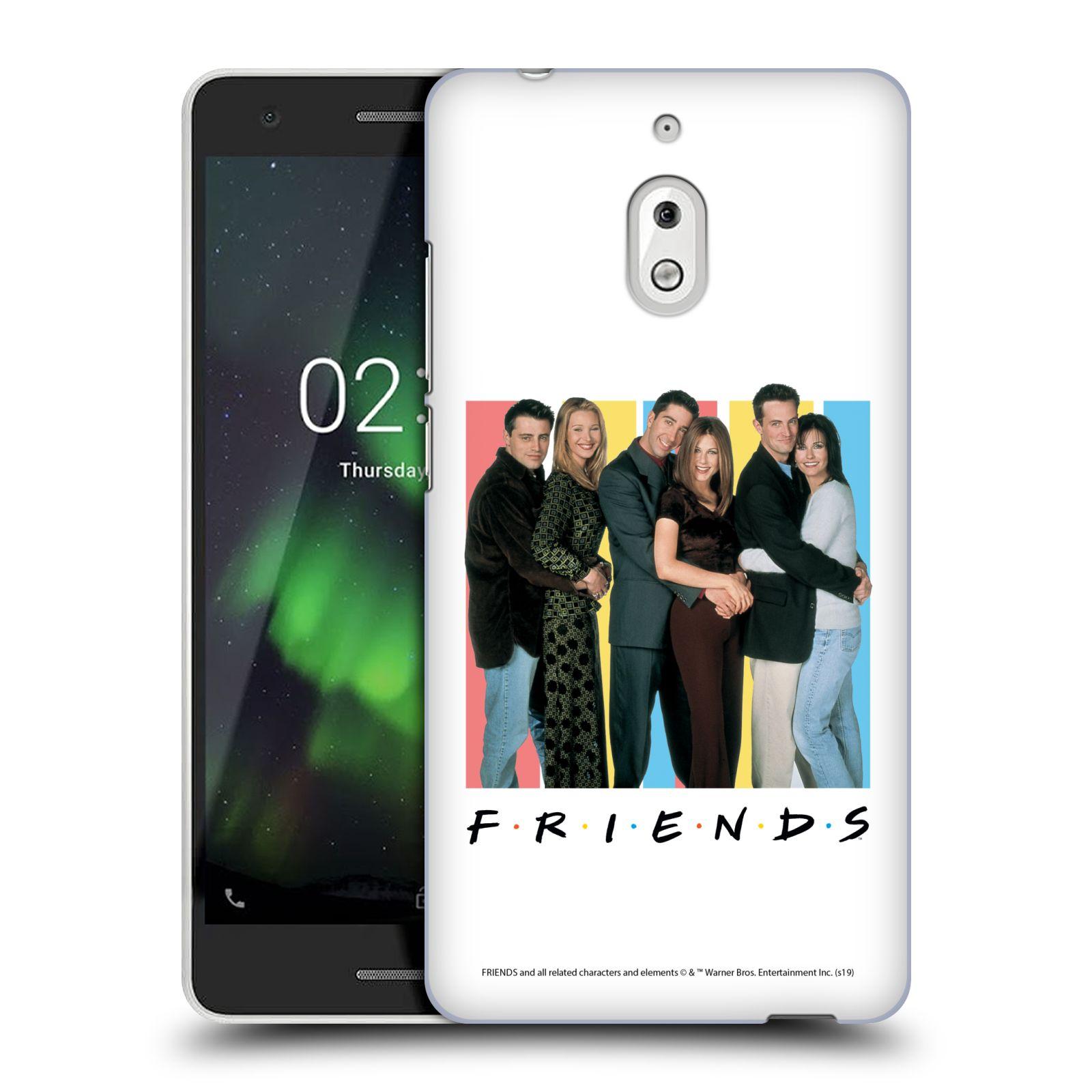 Pouzdro na mobil Nokia 2.1 - HEAD CASE - Seriál Přátelé - Foto