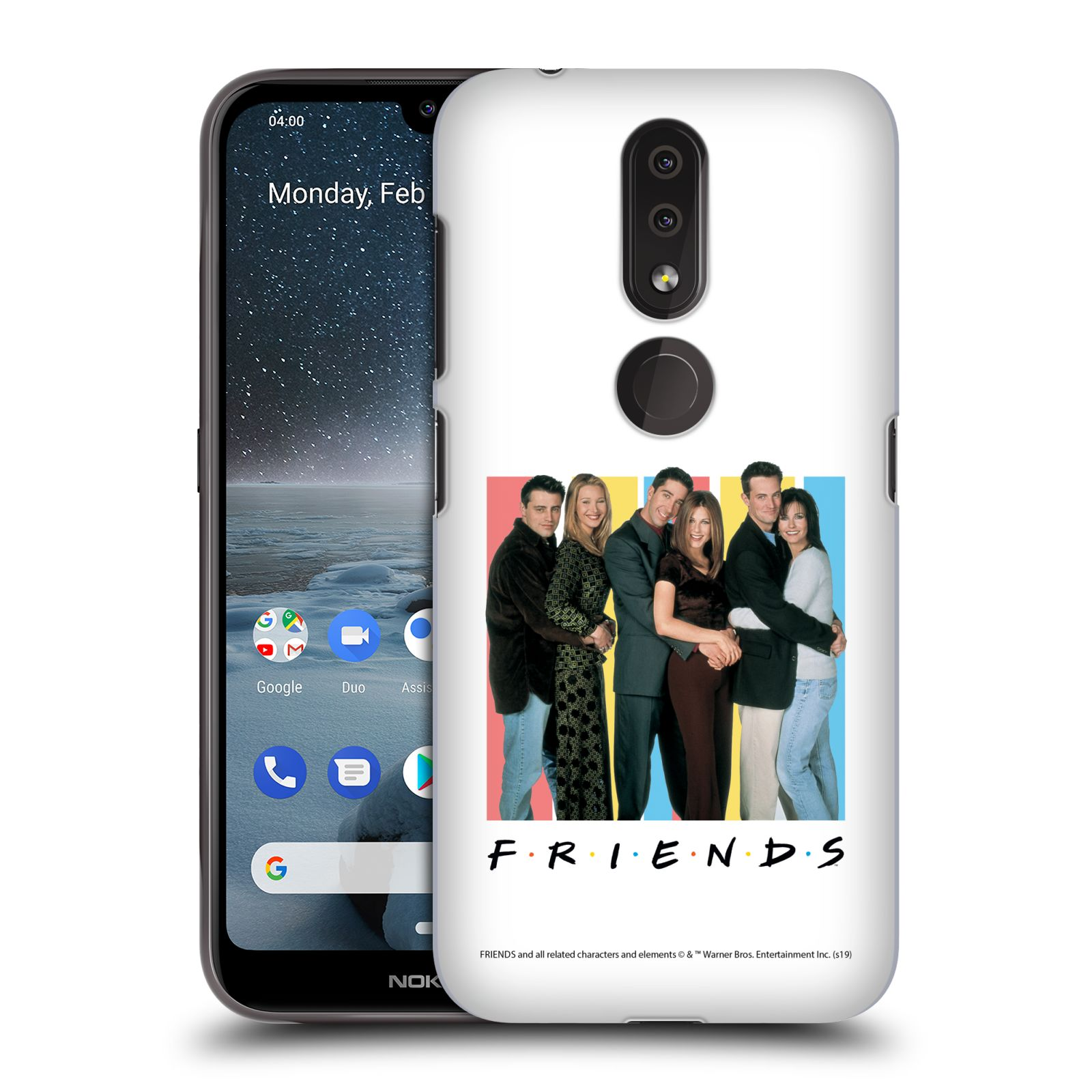 Pouzdro na mobil Nokia 4.2 - HEAD CASE - Seriál Přátelé - Foto