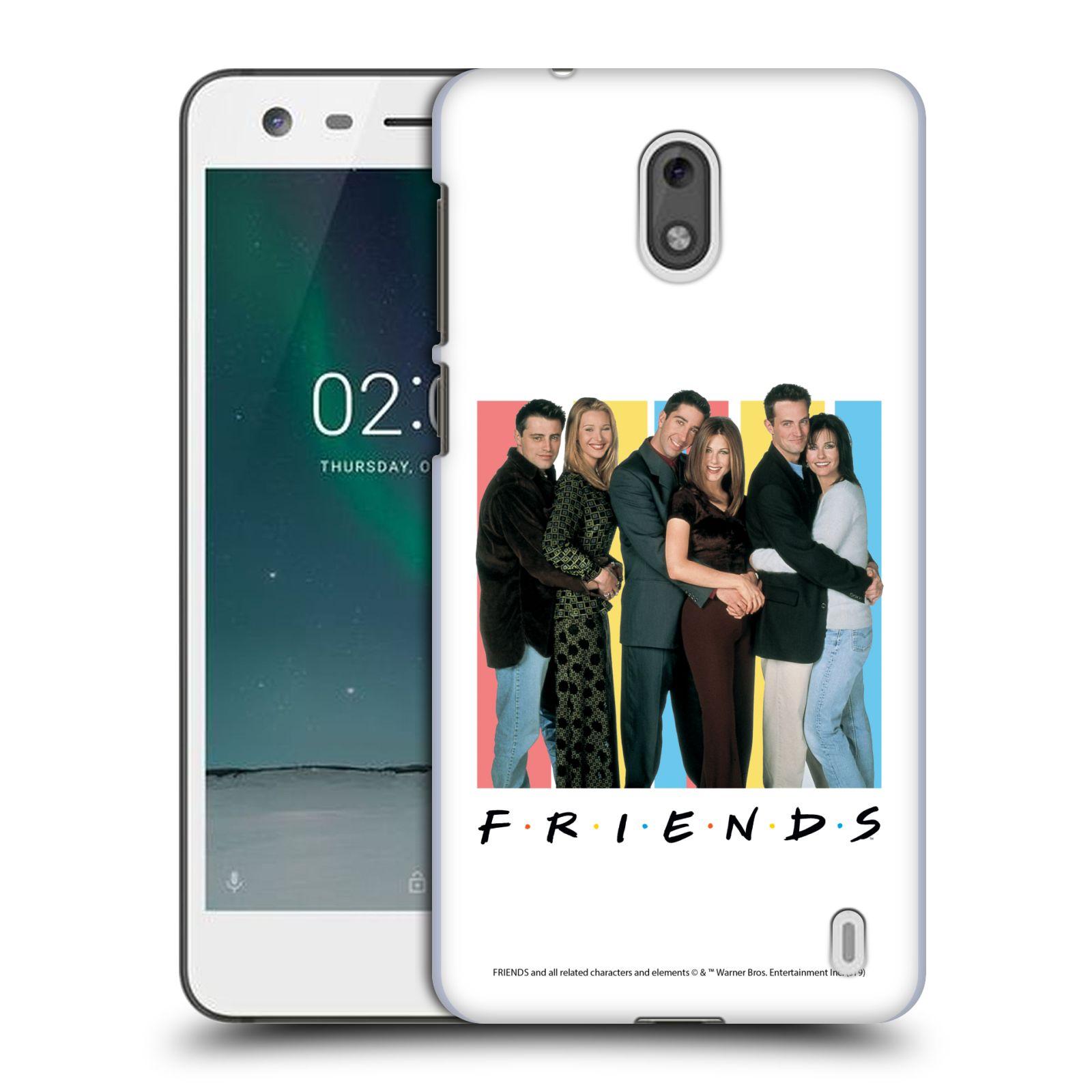 Pouzdro na mobil Nokia 2 - HEAD CASE - Seriál Přátelé - Foto