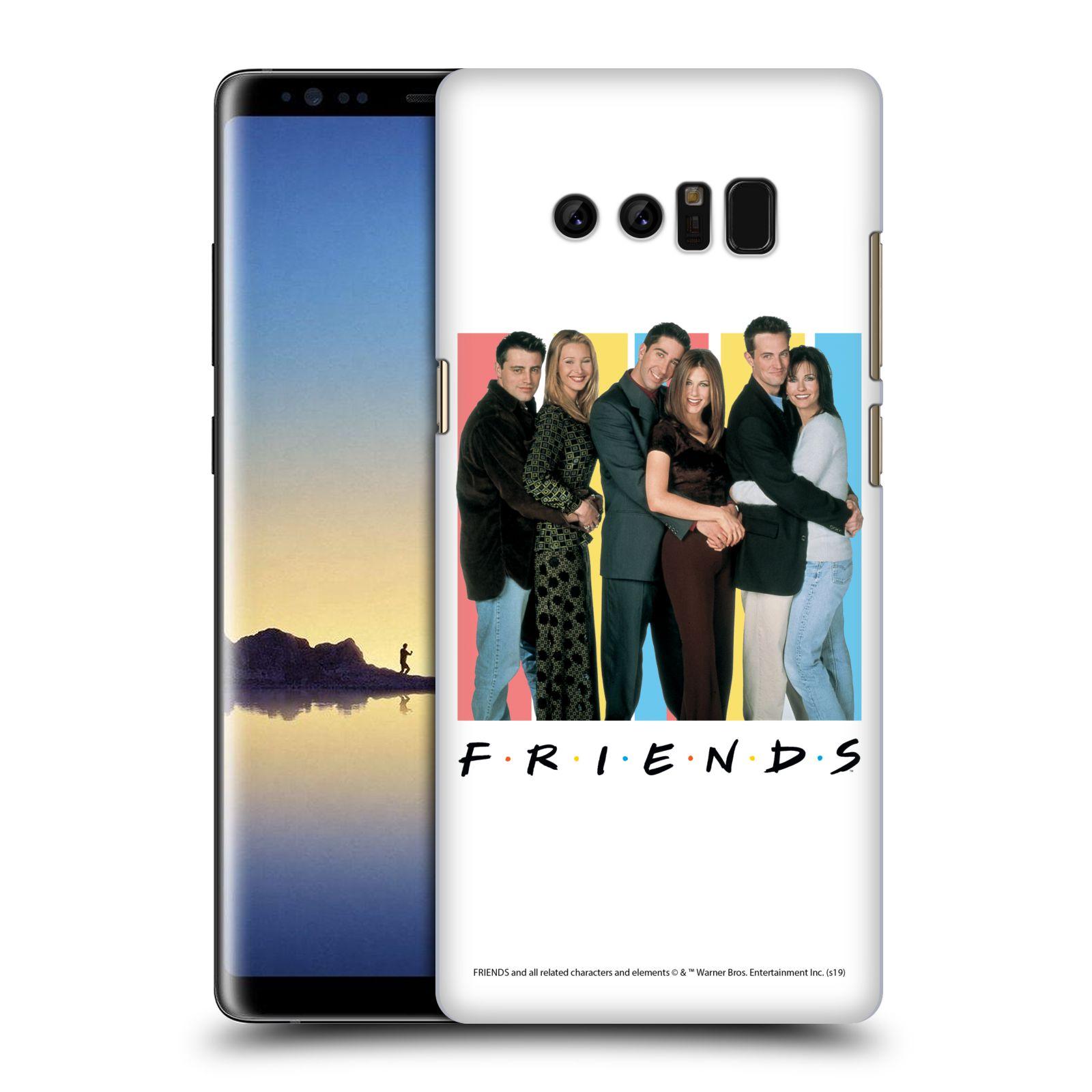 Pouzdro na mobil Samsung Galaxy Note 8 - HEAD CASE - Seriál Přátelé - Foto