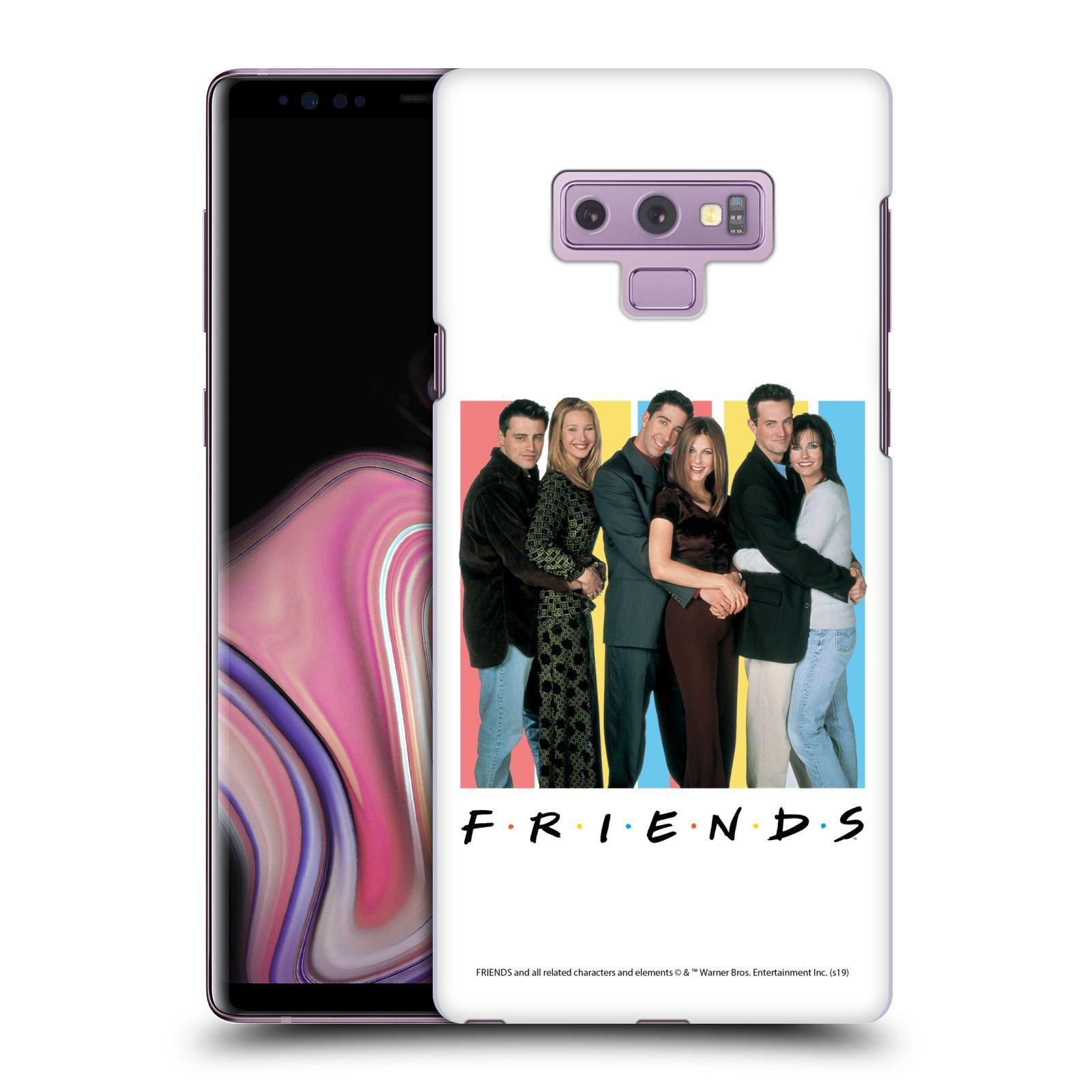 Pouzdro na mobil Samsung Galaxy Note 9 - HEAD CASE - Seriál Přátelé - Foto