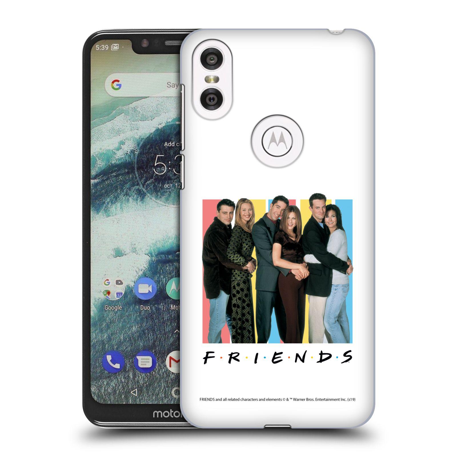 Pouzdro na mobil Motorola Moto ONE - HEAD CASE - Seriál Přátelé - Foto
