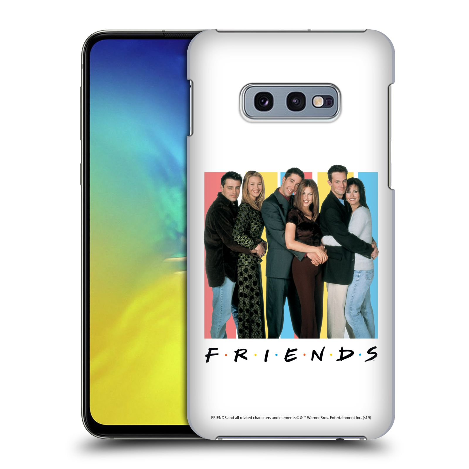Pouzdro na mobil Samsung Galaxy S10e - HEAD CASE - Seriál Přátelé - Foto