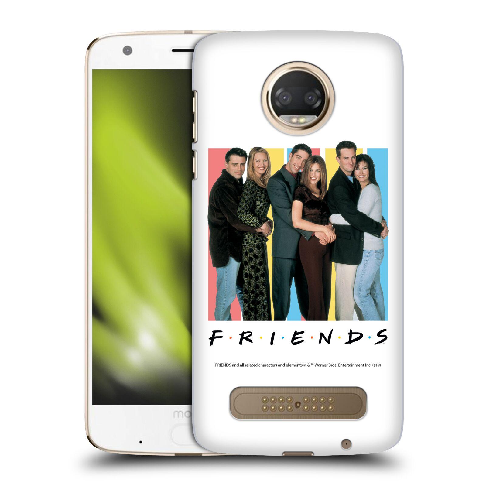 Pouzdro na mobil Motorola Moto Z2 PLAY - HEAD CASE - Seriál Přátelé - Foto
