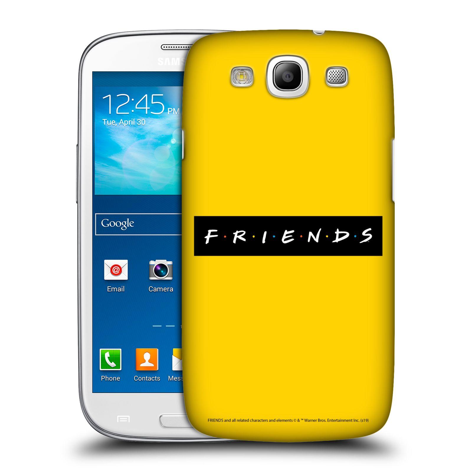 Pouzdro na mobil Samsung Galaxy S3 - HEAD CASE - Seriál Přátelé - nadpis