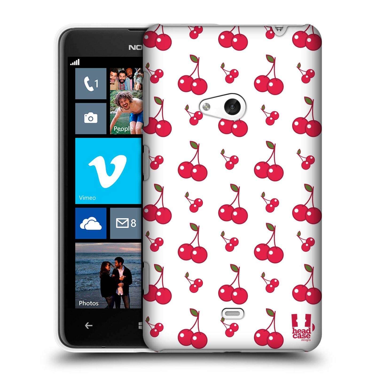 HEAD CASE DESIGNS FRUIT PATTERN BATCH 1 HARD BACK CASE COVER FOR NOKIA LUMIA 625