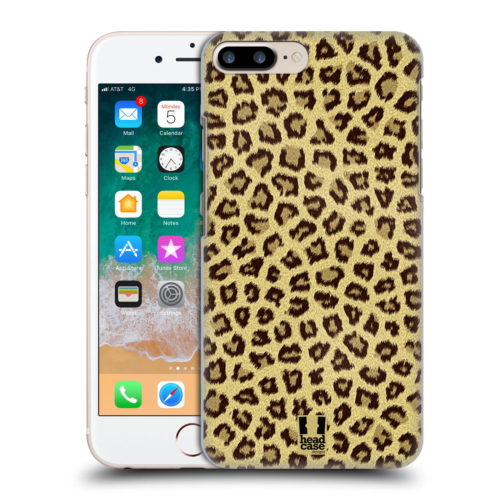HEAD CASE plastový obal na mobil Apple Iphone 7 PLUS vzor Srstnatá kolekce jaguár