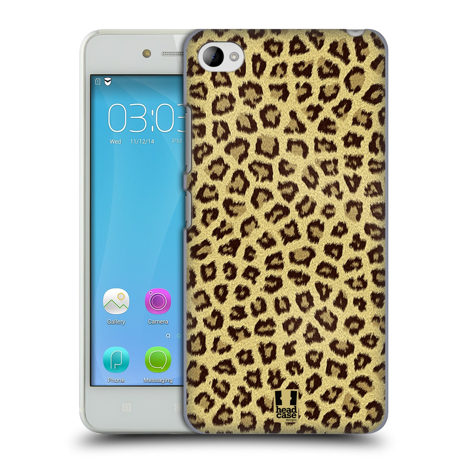 HEAD CASE pevný plastový obal na mobil LENOVO S90 vzor Srstnatá kolekce jaguár
