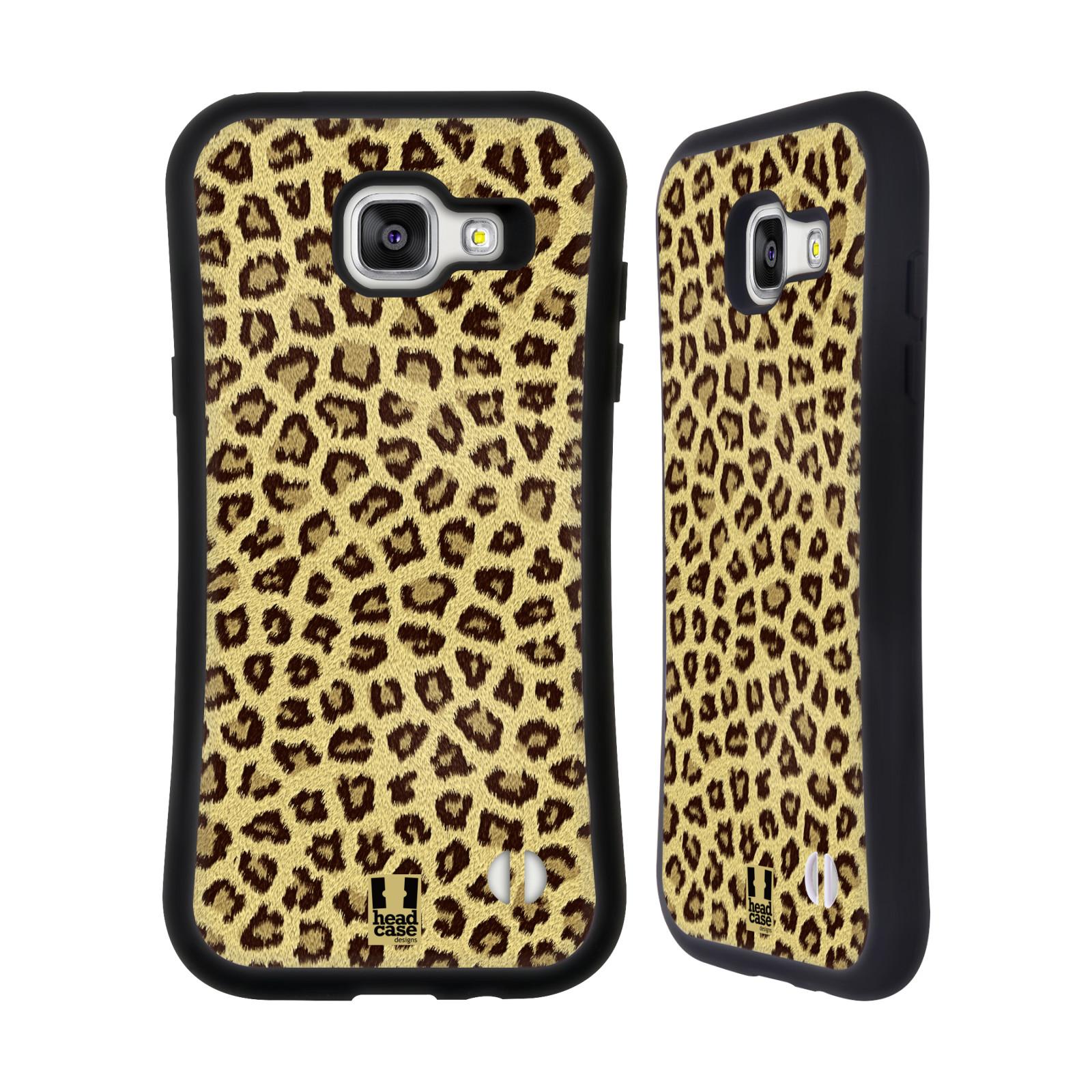 HEAD CASE silikon/plast odolný obal na mobil Samsung Galaxy A5 2016 vzor Srstnatá kolekce jaguár
