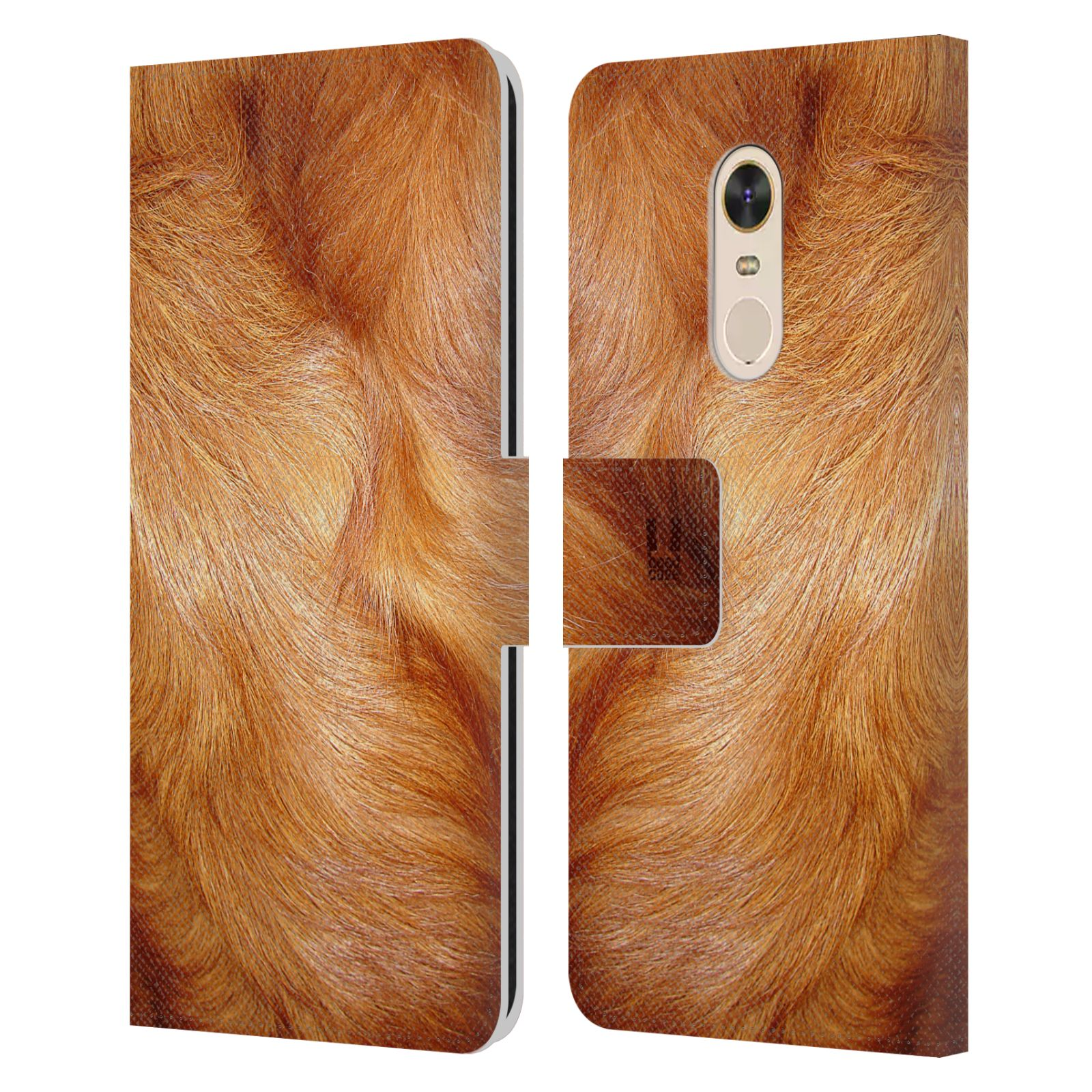 HEAD CASE Flipové pouzdro pro mobil Xiaomi Redmi Note 5 zvíře srst divoká kolekce pes retrívr