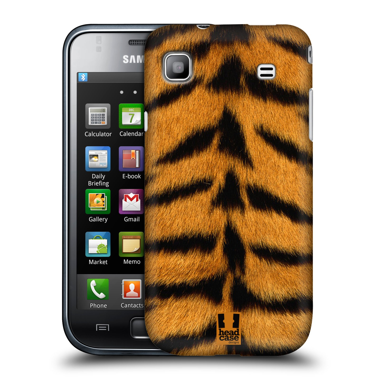 HEAD CASE DESIGNS FURRY COLLECTION CASE FOR SAMSUNG GALAXY S PLUS I9001