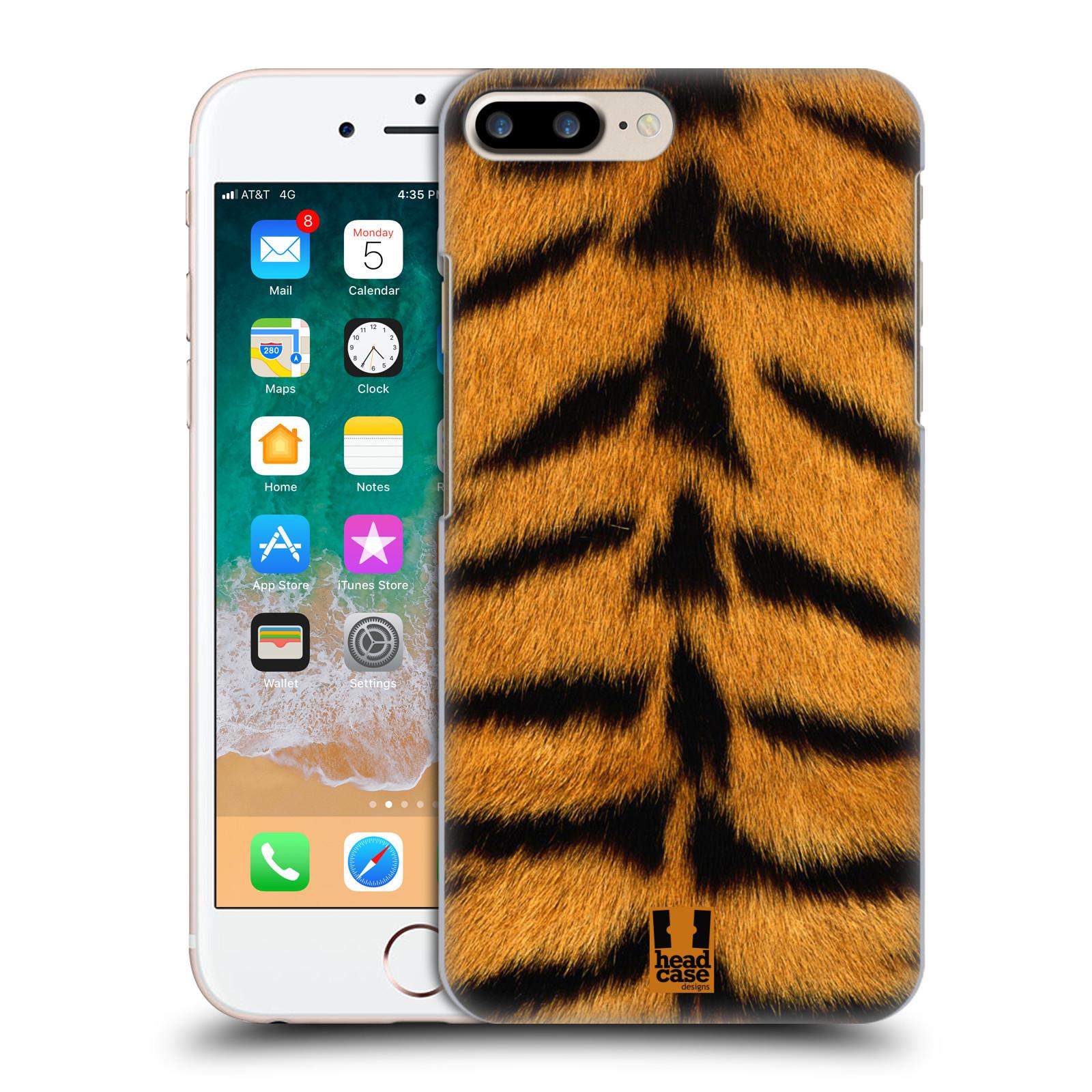 HEAD CASE plastový obal na mobil Apple Iphone 7 PLUS vzor Srstnatá kolekce TYGR