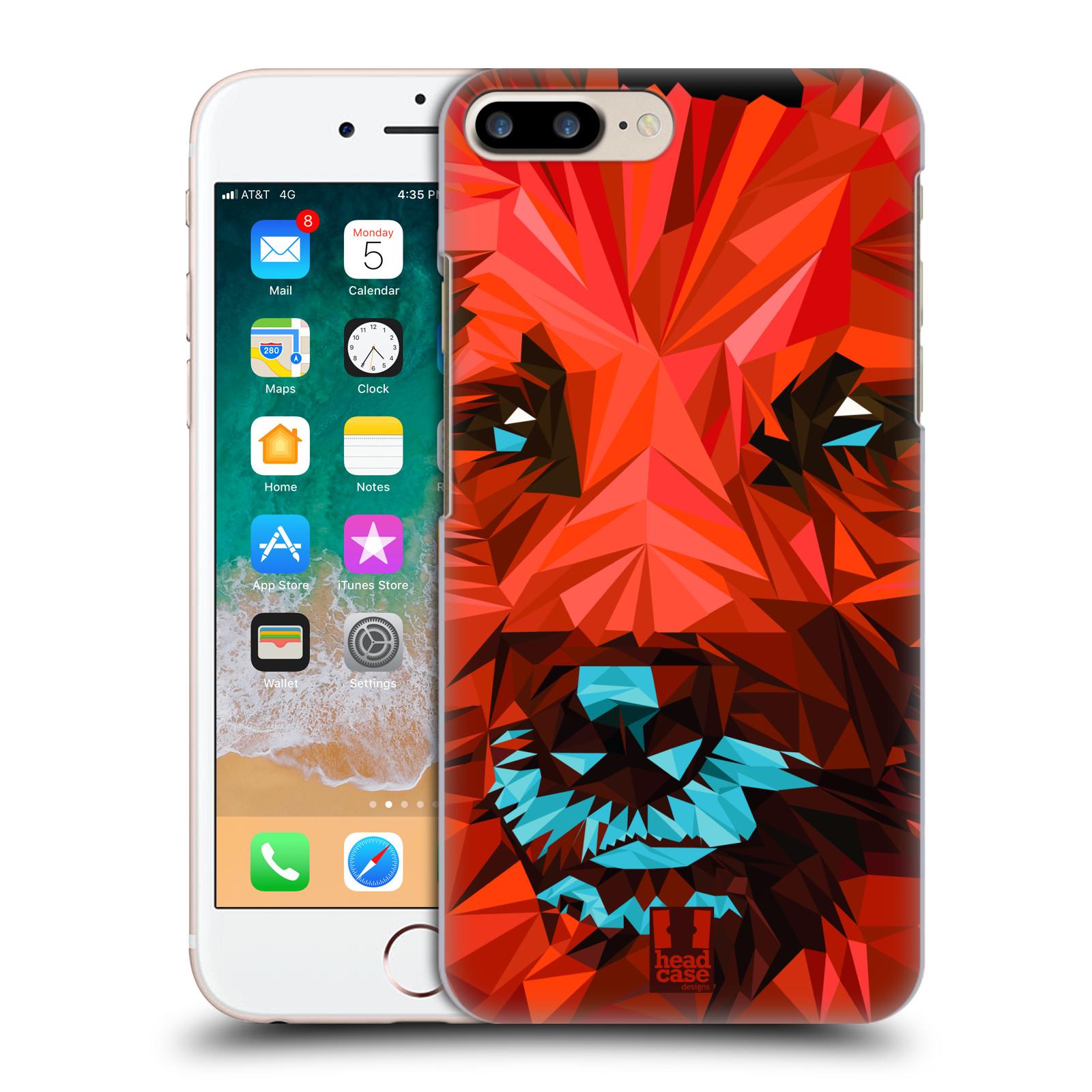 HEAD CASE plastový obal na mobil Apple Iphone 7 PLUS vzor Geometrická zvířata 2 pes