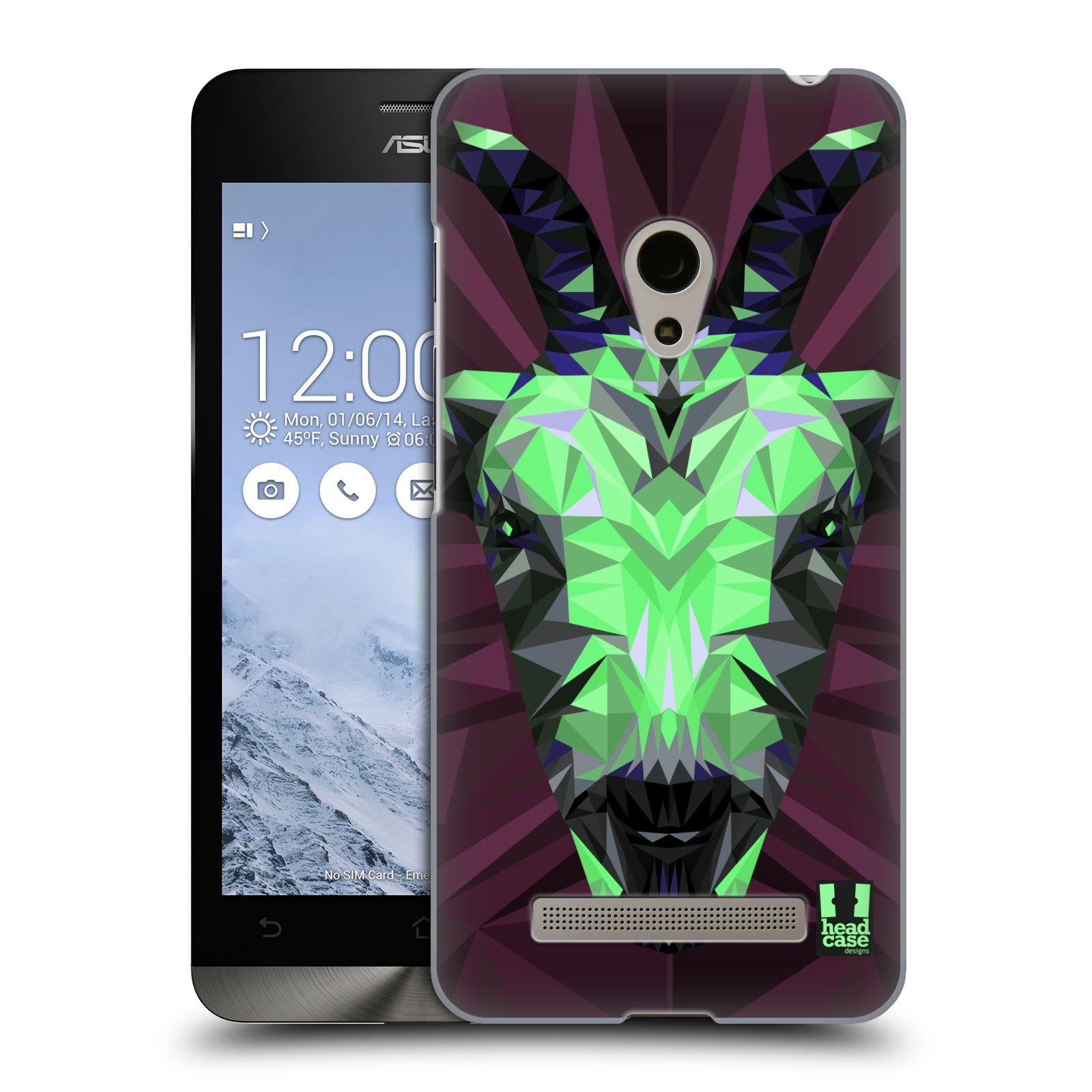 HEAD CASE plastový obal na mobil Asus Zenfone 5 vzor Geometrická zvířata 2 kozel