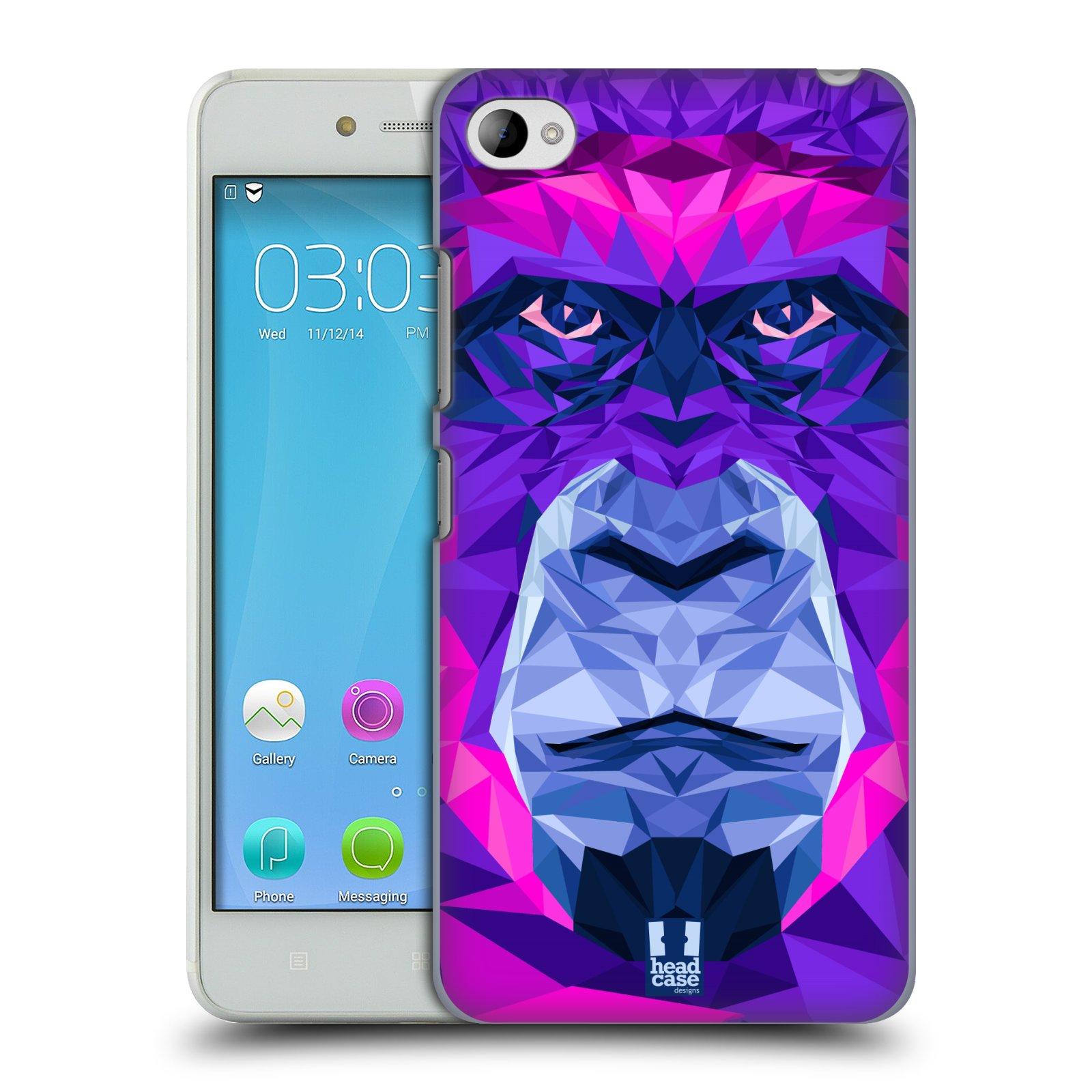 HEAD CASE pevný plastový obal na mobil LENOVO S90 vzor Geometrická zvířata 2 Orangutan