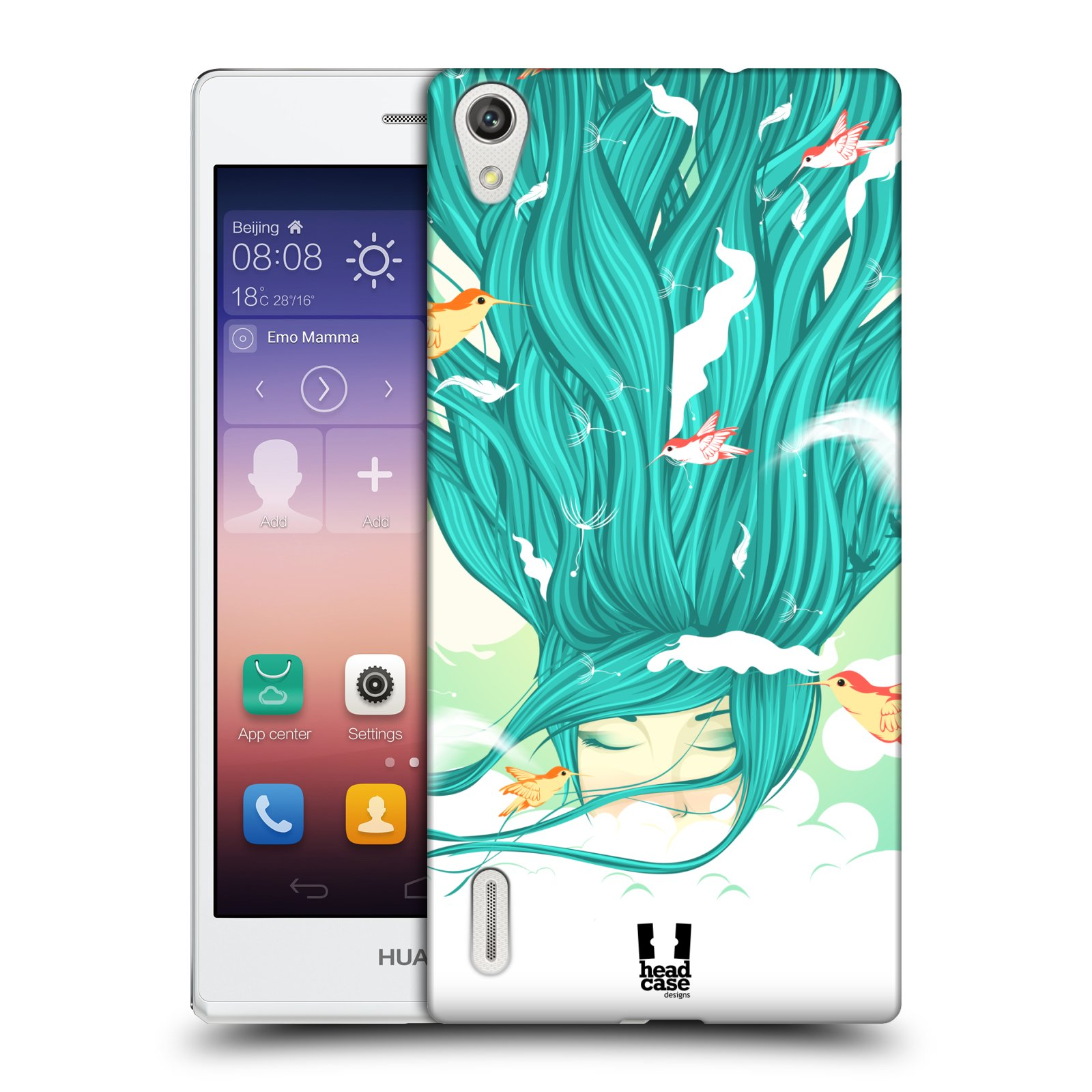 HEAD CASE DESIGNS GODDESSES OF ELEMENTS CASE FOR HUAWEI ASCEND P7 LTE
