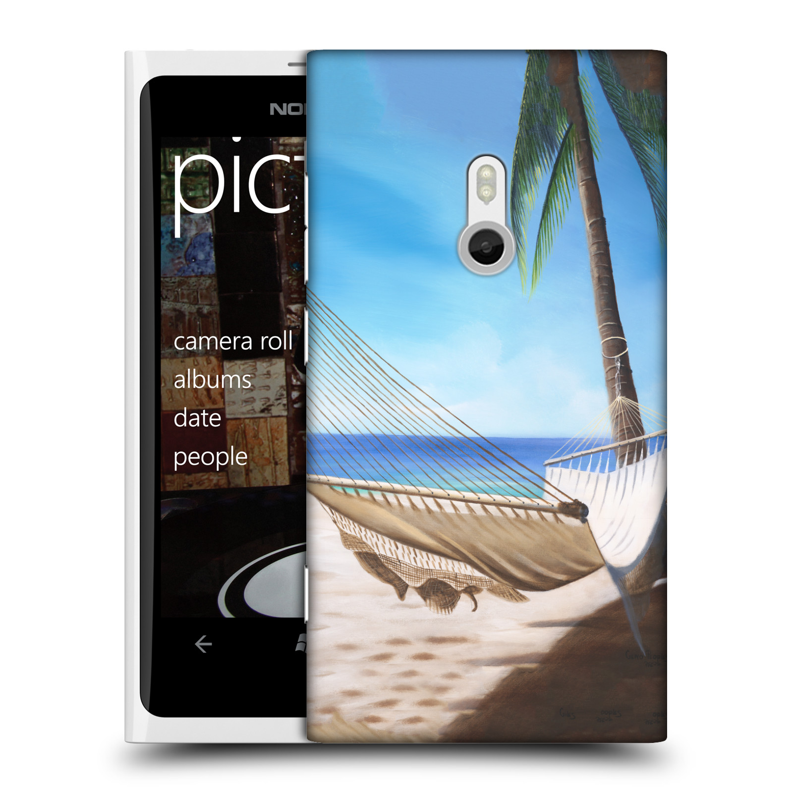OFFICIAL-GENO-PEOPLES-ART-HOLIDAY-HARD-BACK-CASE-FOR-NOKIA-PHONES-2