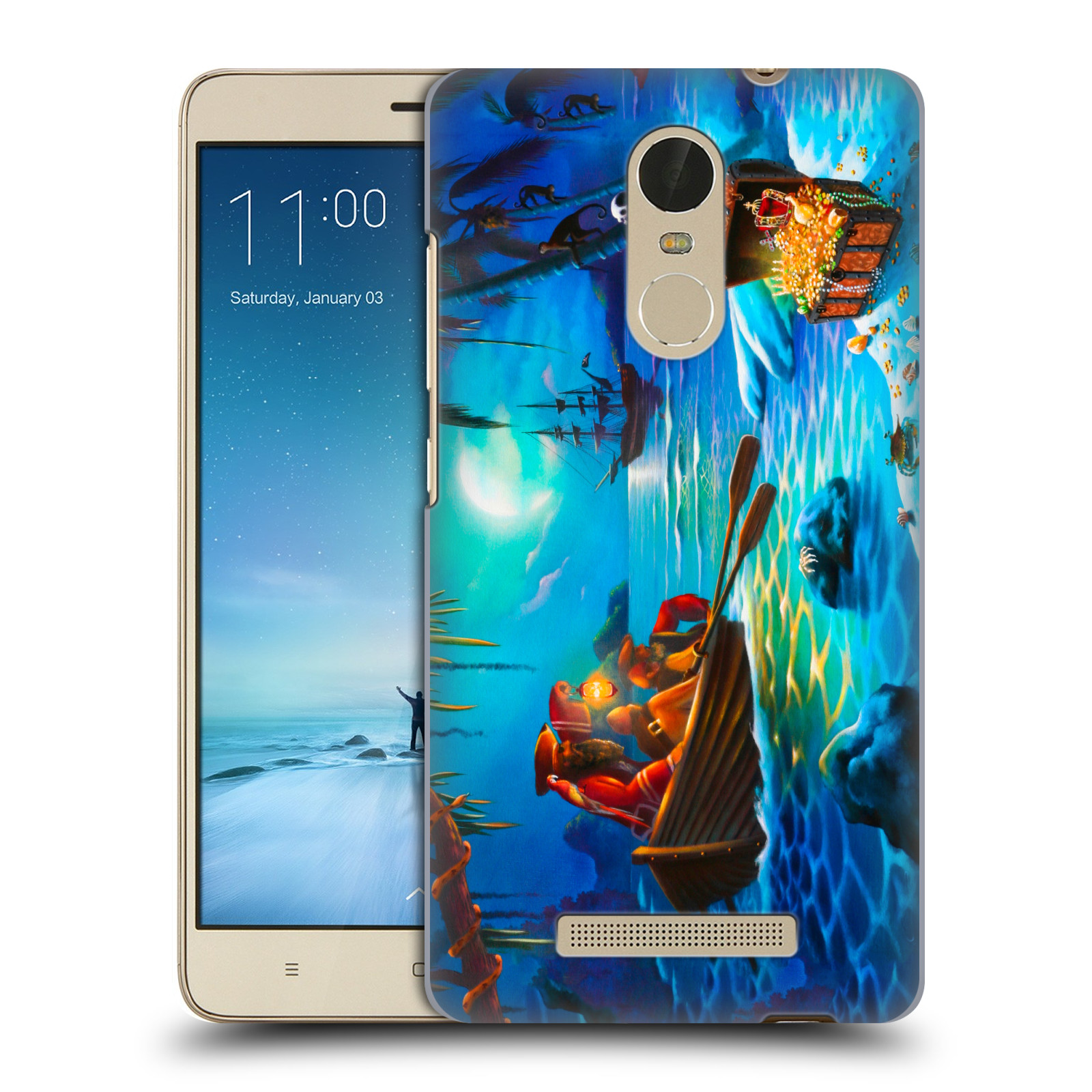 OFFICIAL-GENO-PEOPLES-ART-HOLIDAY-HARD-BACK-CASE-FOR-XIAOMI-PHONES