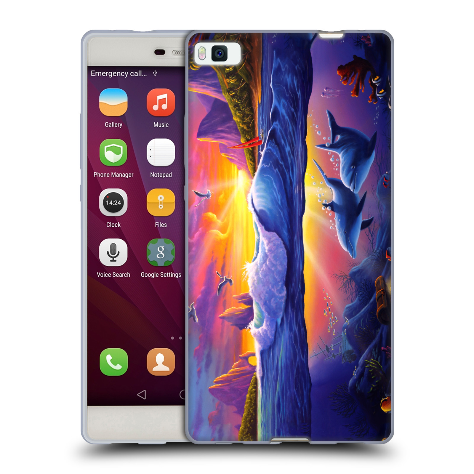 OFFICIAL-GENO-PEOPLES-ART-HOLIDAY-SOFT-GEL-CASE-FOR-HUAWEI-PHONES