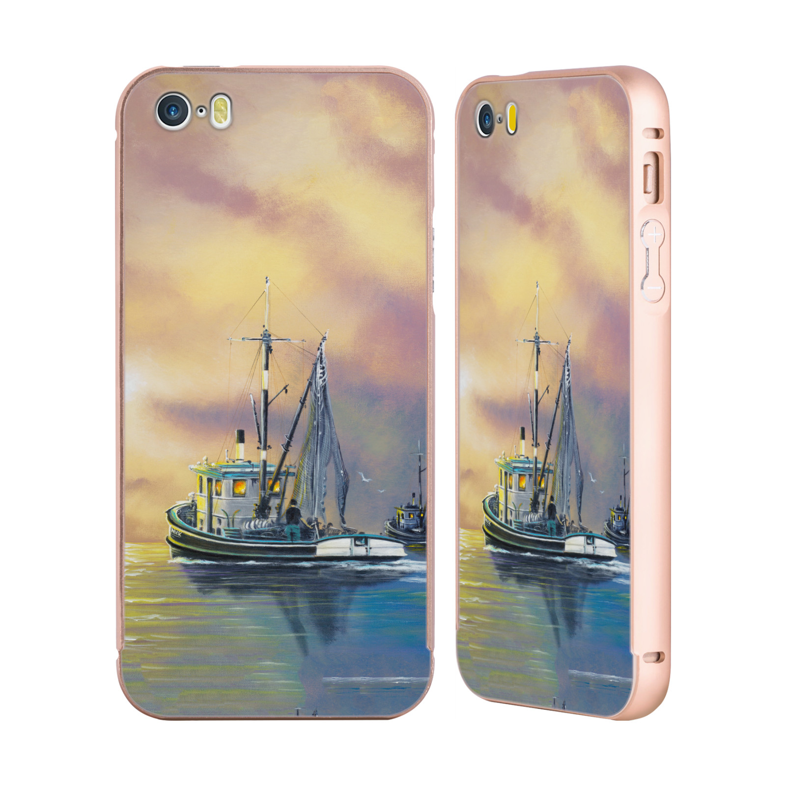 OFFICIAL-GENO-PEOPLES-ART-HOLIDAY-GOLD-SLIDER-CASE-FOR-APPLE-iPHONE-PHONES