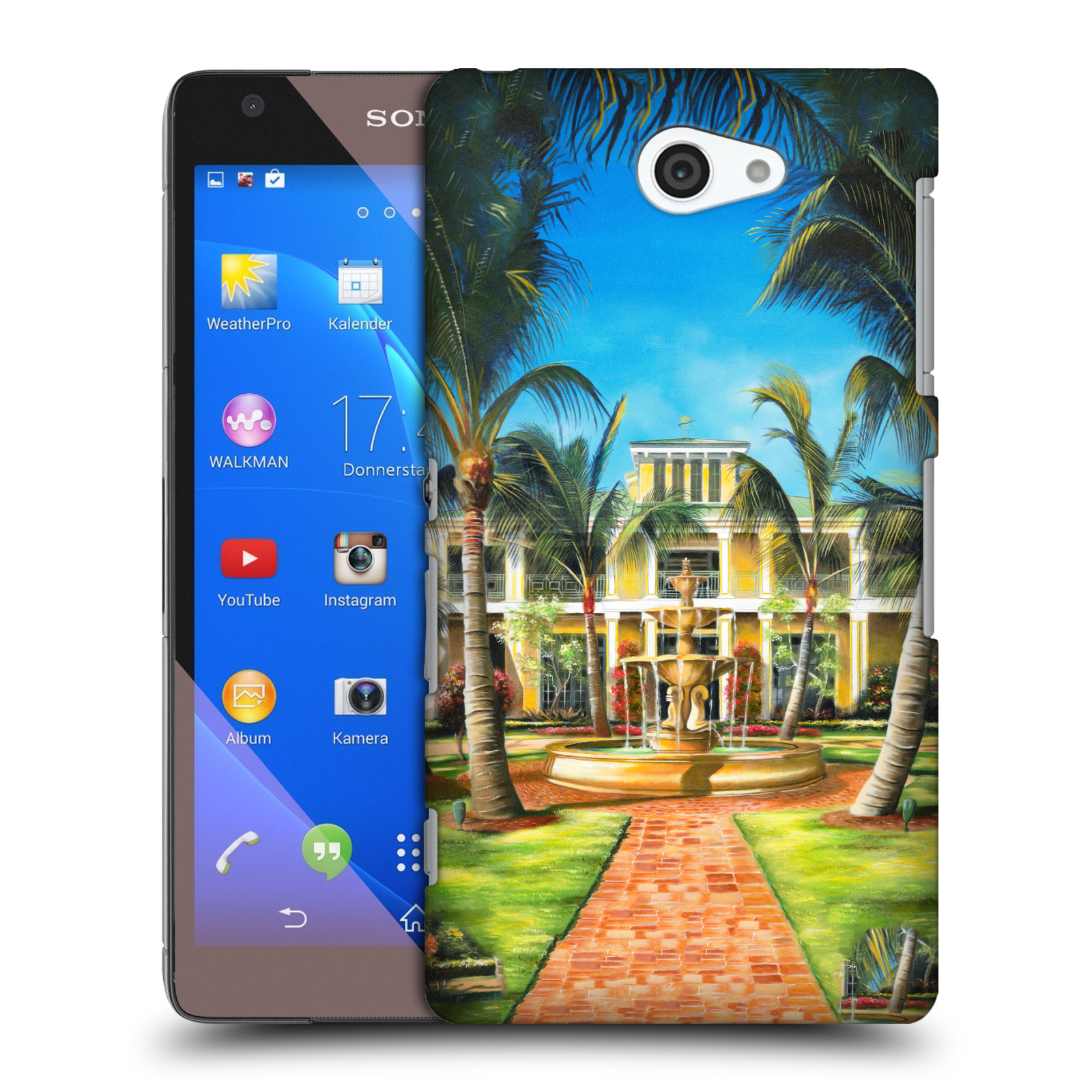 OFFICIAL-GENO-PEOPLES-ART-HOLIDAY-HARD-BACK-CASE-FOR-SONY-PHONES-4