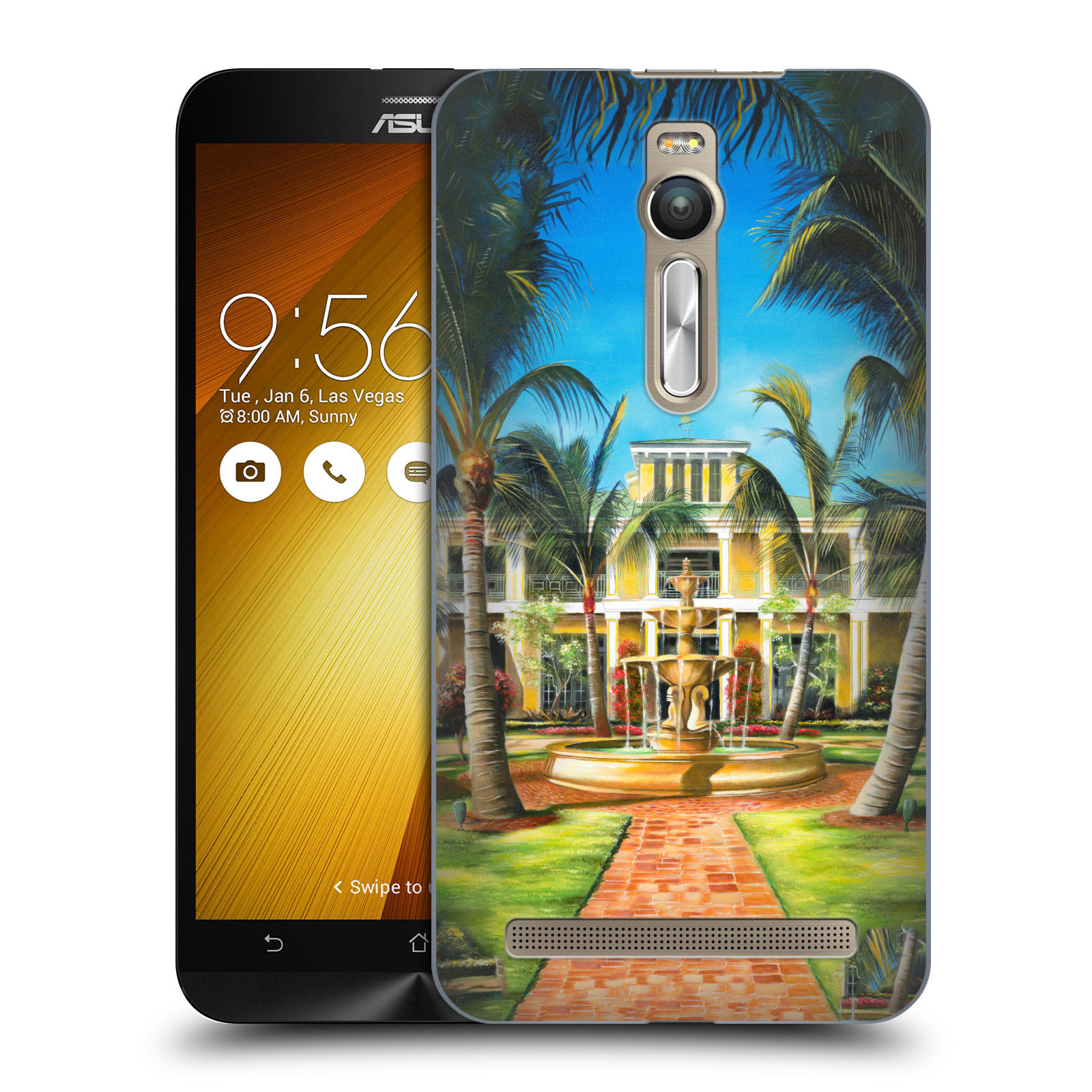 OFFICIAL-GENO-PEOPLES-ART-HOLIDAY-HARD-BACK-CASE-FOR-ASUS-ZENFONE-PHONES