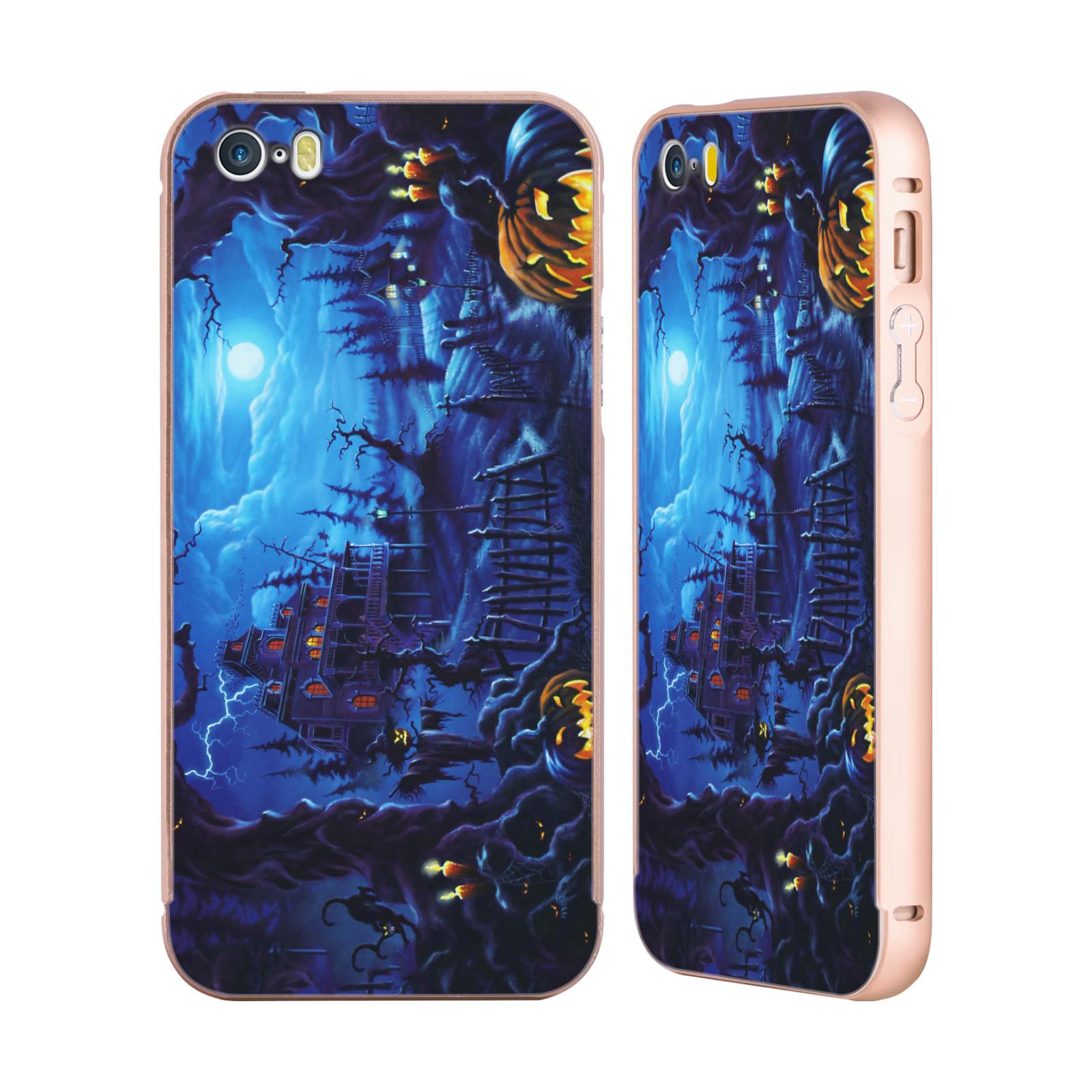 OFFICIAL-GENO-PEOPLES-ART-HALLOWEEN-GOLD-SLIDER-CASE-FOR-APPLE-iPHONE-PHONES
