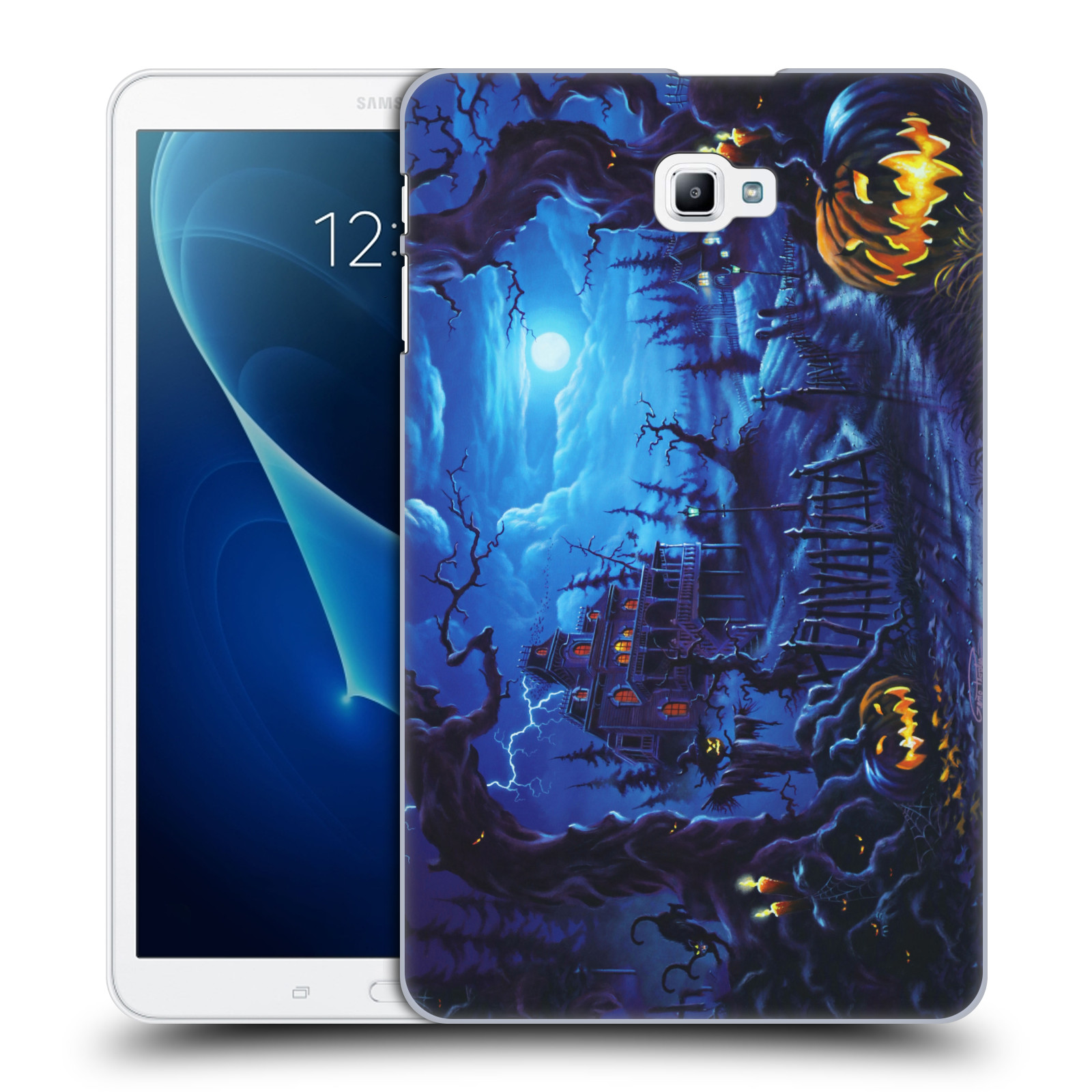 UFFICIALE-GENO-PEOPLES-ART-HALLOWEEN-COVER-RETRO-RIGIDA-PER-SAMSUNG-TABLETS-1