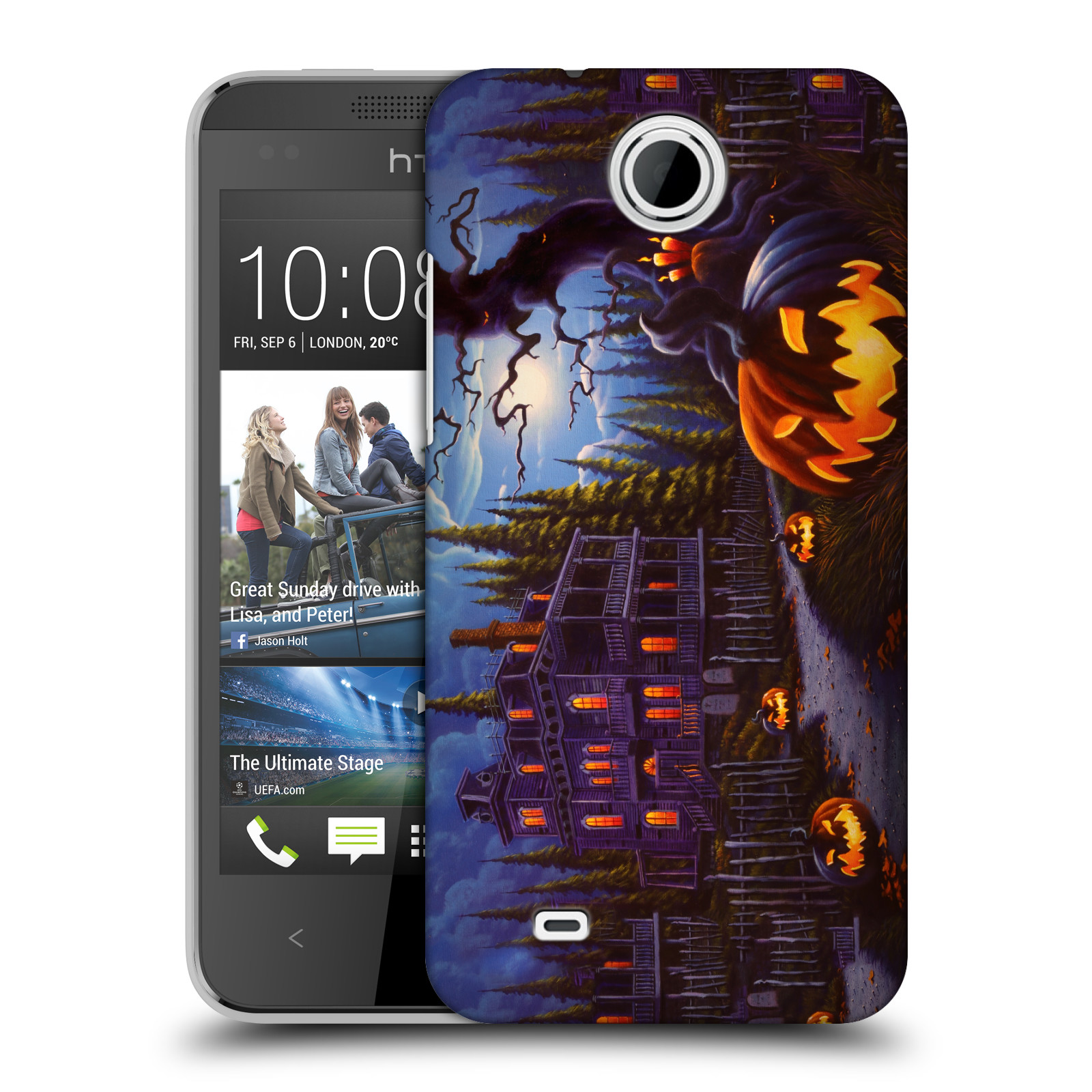 OFFICIAL-GENO-PEOPLES-ART-HALLOWEEN-HARD-BACK-CASE-FOR-HTC-PHONES-3