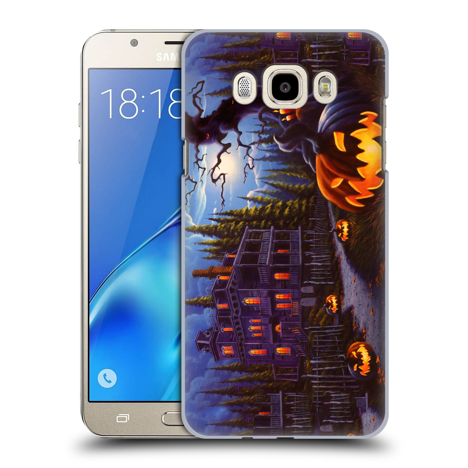 OFFICIAL-GENO-PEOPLES-ART-HALLOWEEN-HARD-BACK-CASE-FOR-SAMSUNG-PHONES-3