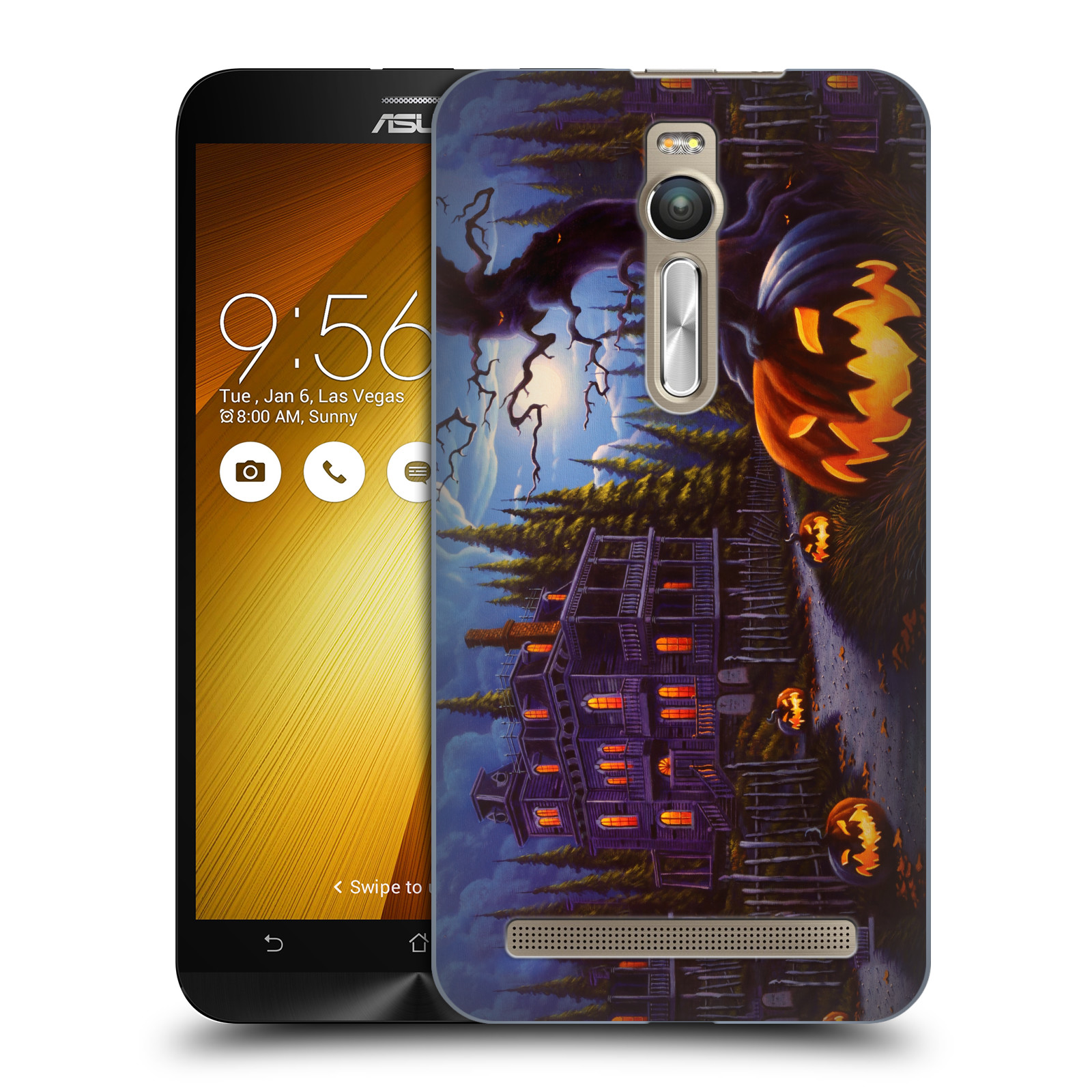 OFFICIAL-GENO-PEOPLES-ART-HALLOWEEN-HARD-BACK-CASE-FOR-ASUS-ZENFONE-PHONES