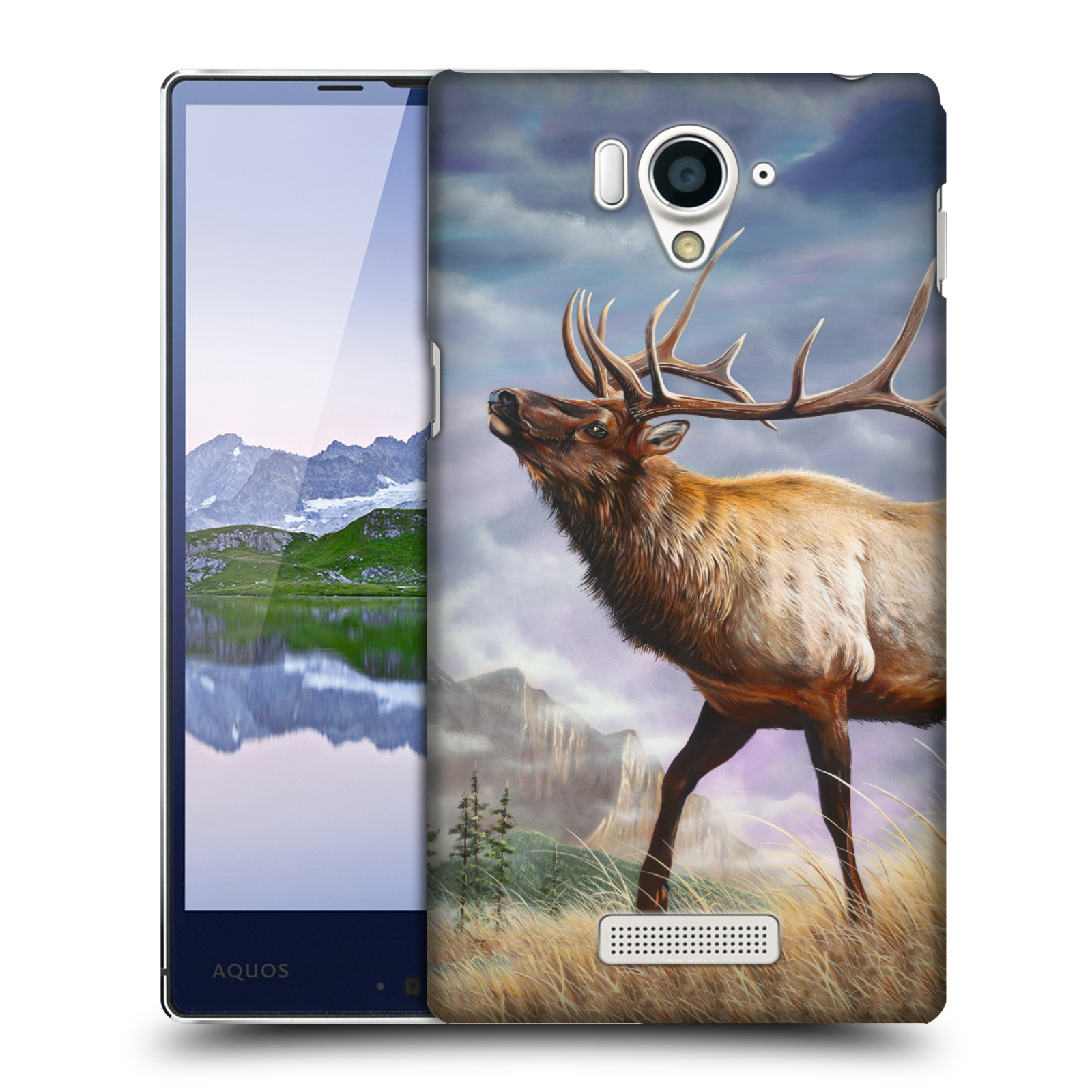 OFFICIAL-GENO-PEOPLES-ART-LIFE-HARD-BACK-CASE-FOR-SHARP-PHONES