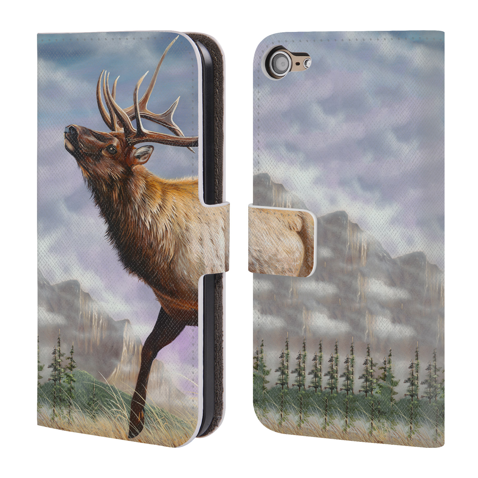 OFFICIAL-GENO-PEOPLES-ART-LIFE-LEATHER-BOOK-WALLET-CASE-FOR-APPLE-iPOD-TOUCH-MP3